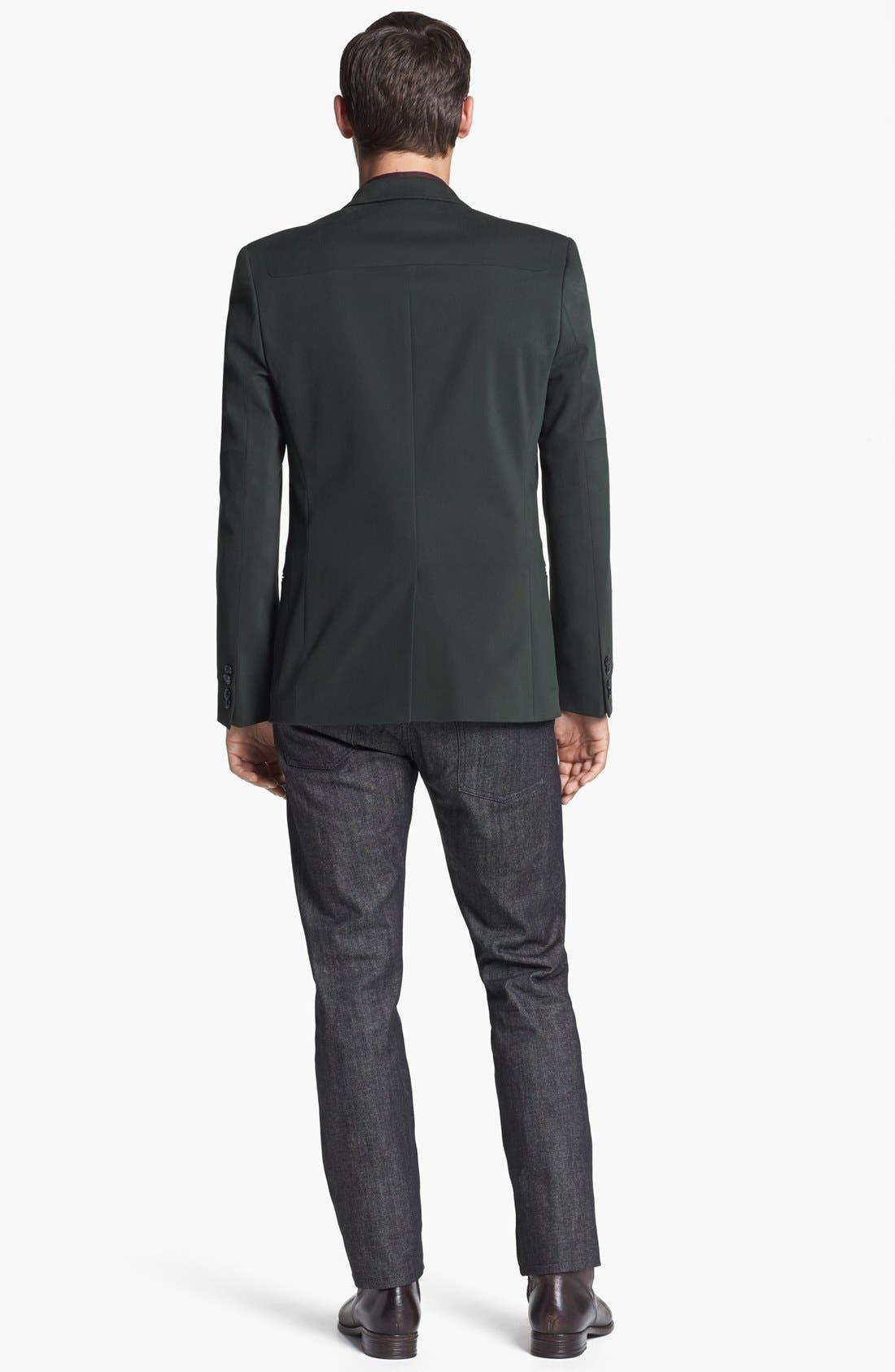 Alternate Image 2  - HUGO Blazer & Levi's® Made & Crafted™ Jeans