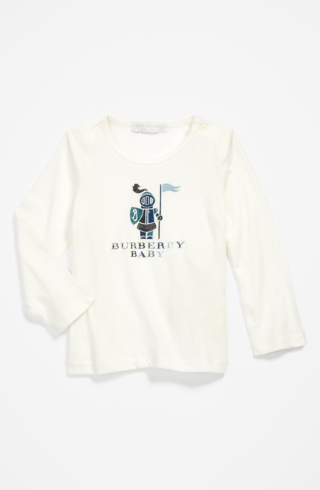 Alternate Image 1 Selected - Burberry 'Ted' T-Shirt (Toddler Boys)