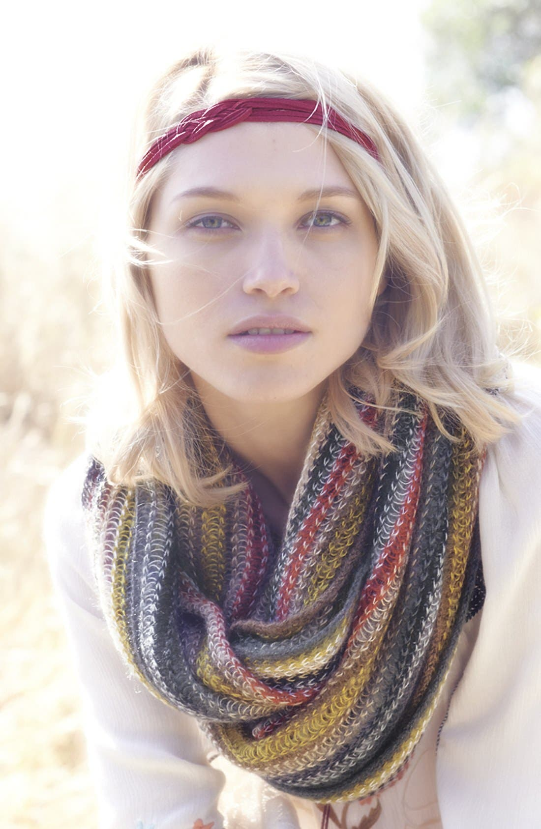 Alternate Image 3  - Echo 'Fuzzy Stripe' Infinity Scarf
