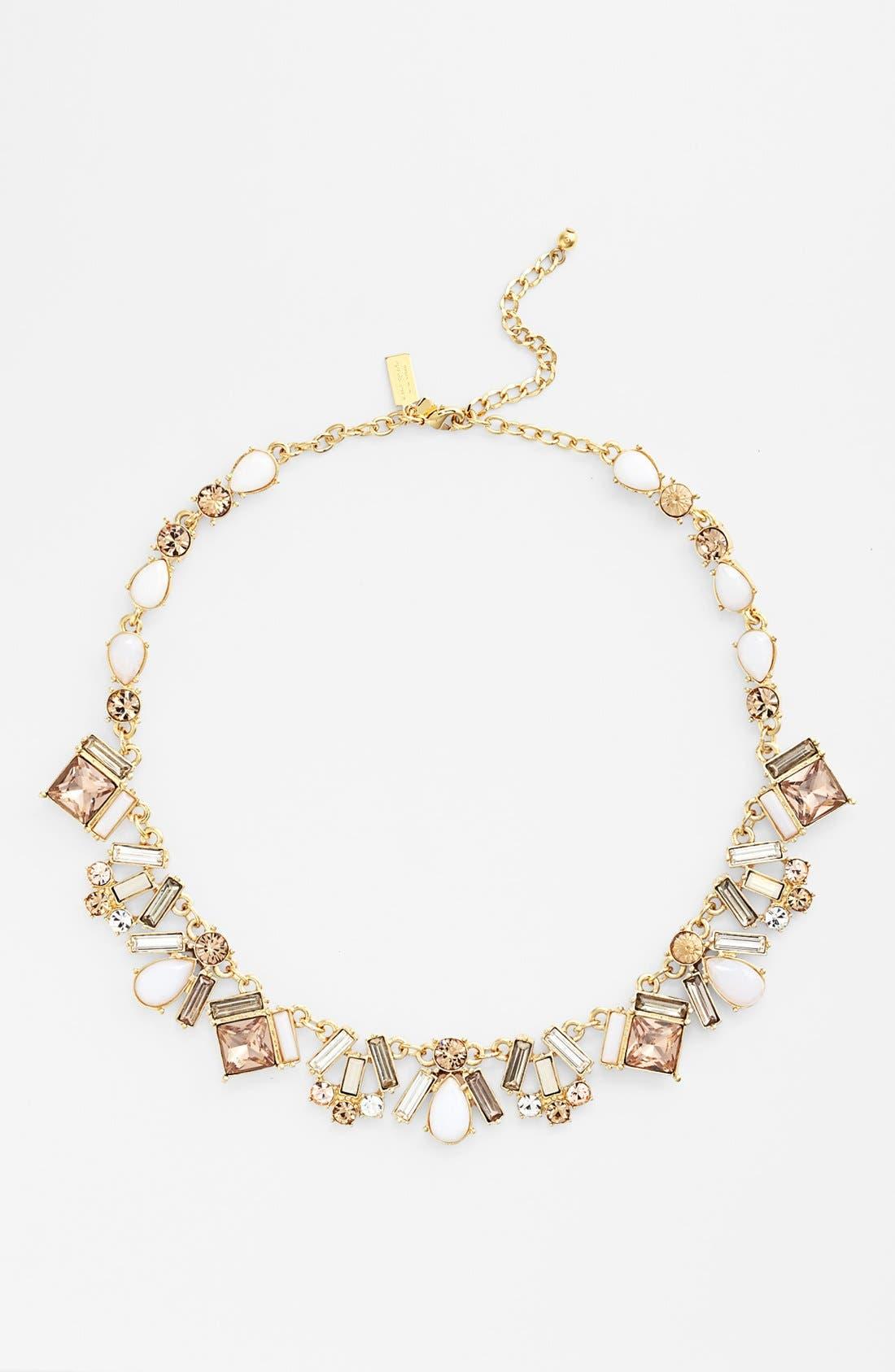Alternate Image 2  - kate spade new york 'baguette bridal' collar necklace