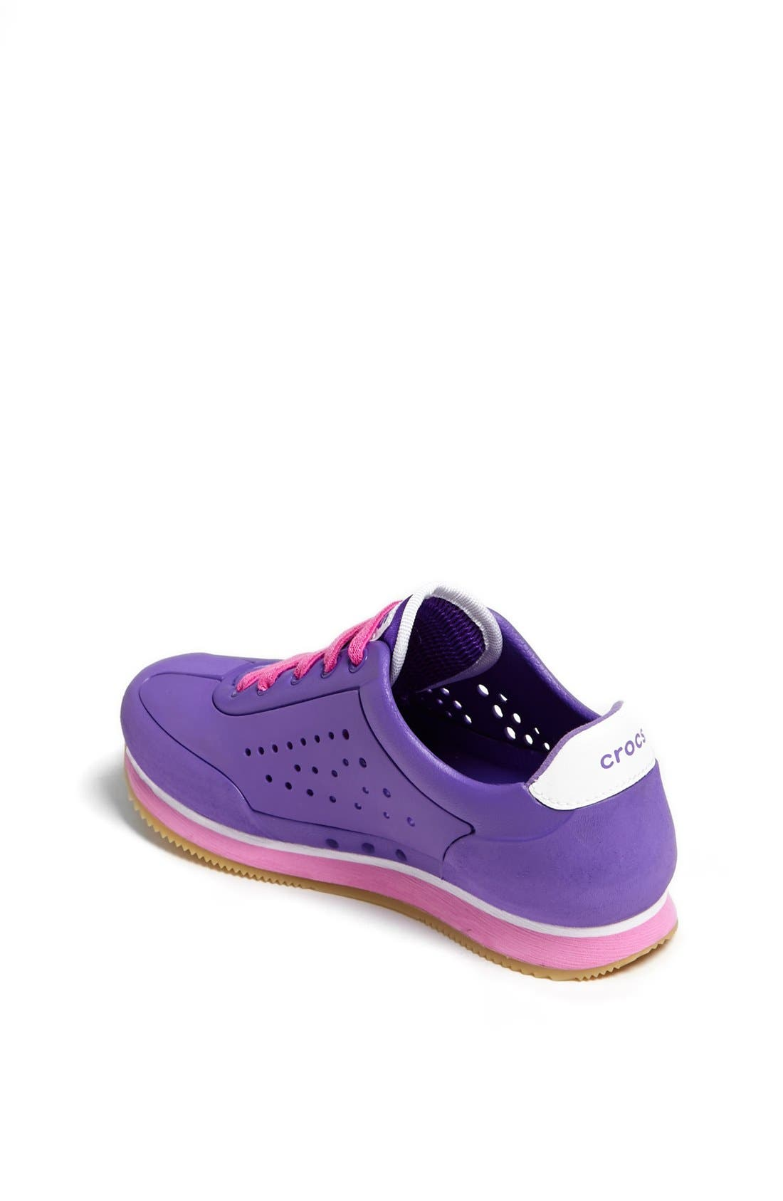 Alternate Image 2  - CROCS™ 'Retro' Sneaker (Little Kid & Big Kid)
