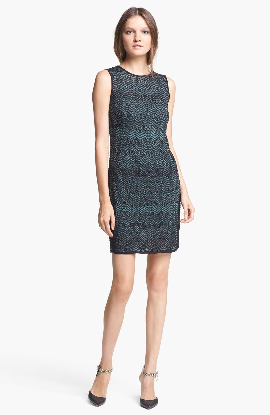 Main Image - M Missoni Zigzag Shift Dress