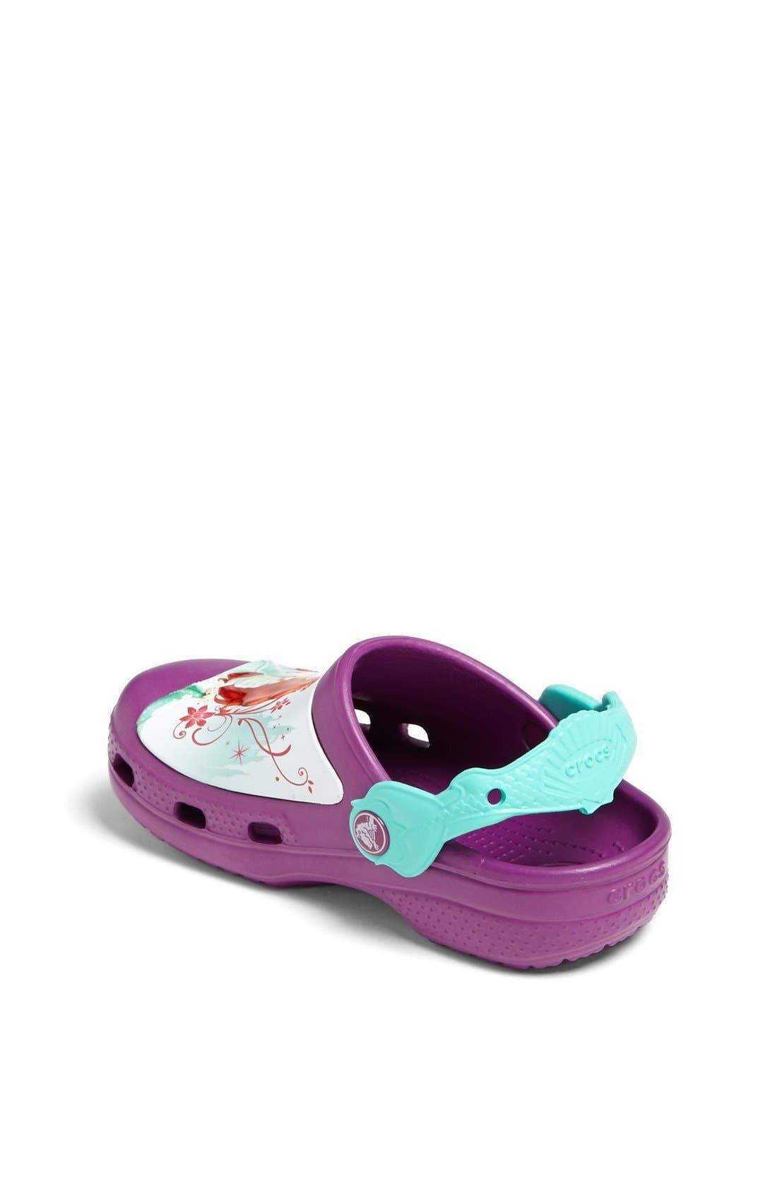 Alternate Image 2  - CROCS™ 'Ariel' Clog (Walker, Toddler &  Little Kid)