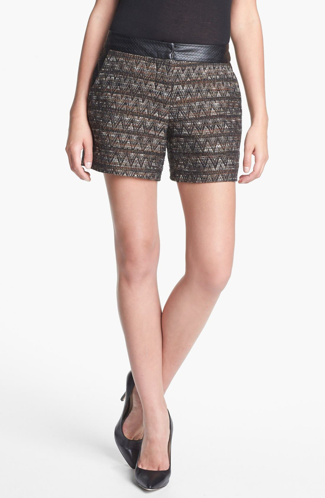 Alternate Image 1 Selected - Trina Turk 'Gathering' Tweed Shorts