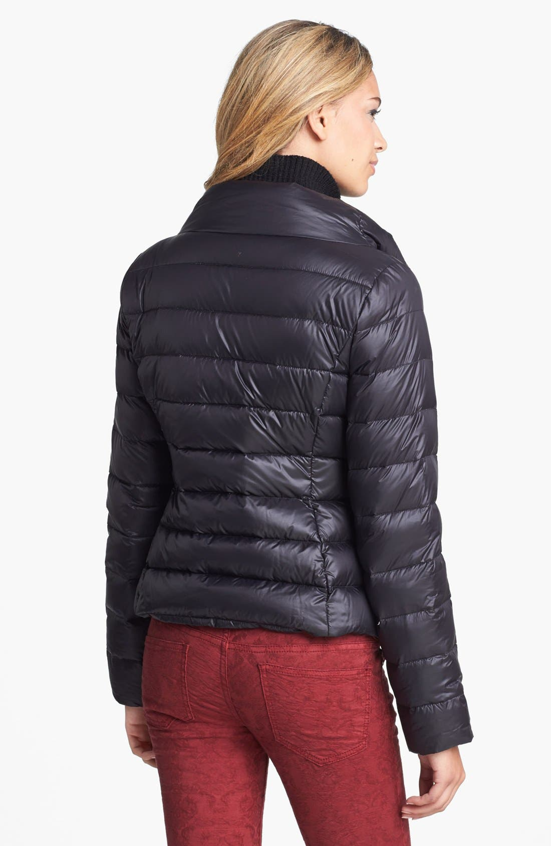 Alternate Image 2  - T Tahari 'Sandra' Bib Front Packable Quilted Jacket