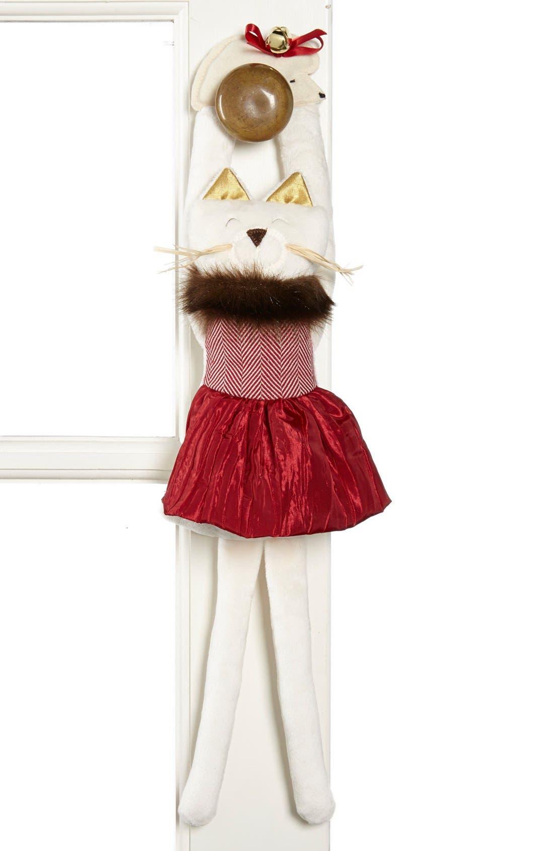 Alternate Image 1 Selected - Woof & Poof Cat Door Hanger