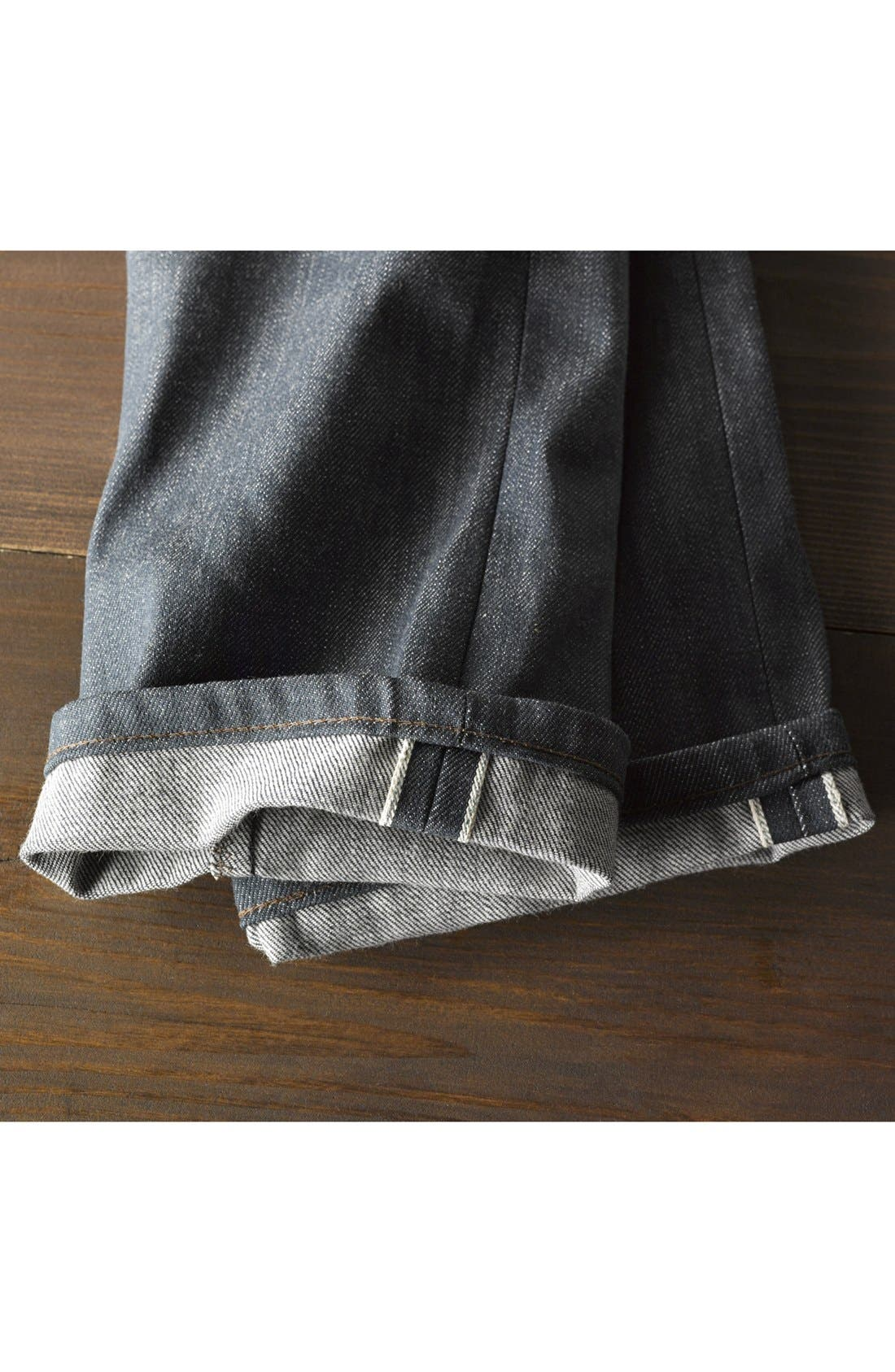 Alternate Image 6  - Naked & Famous Denim 'Skinny Guy' Skinny Fit Selvedge Jeans