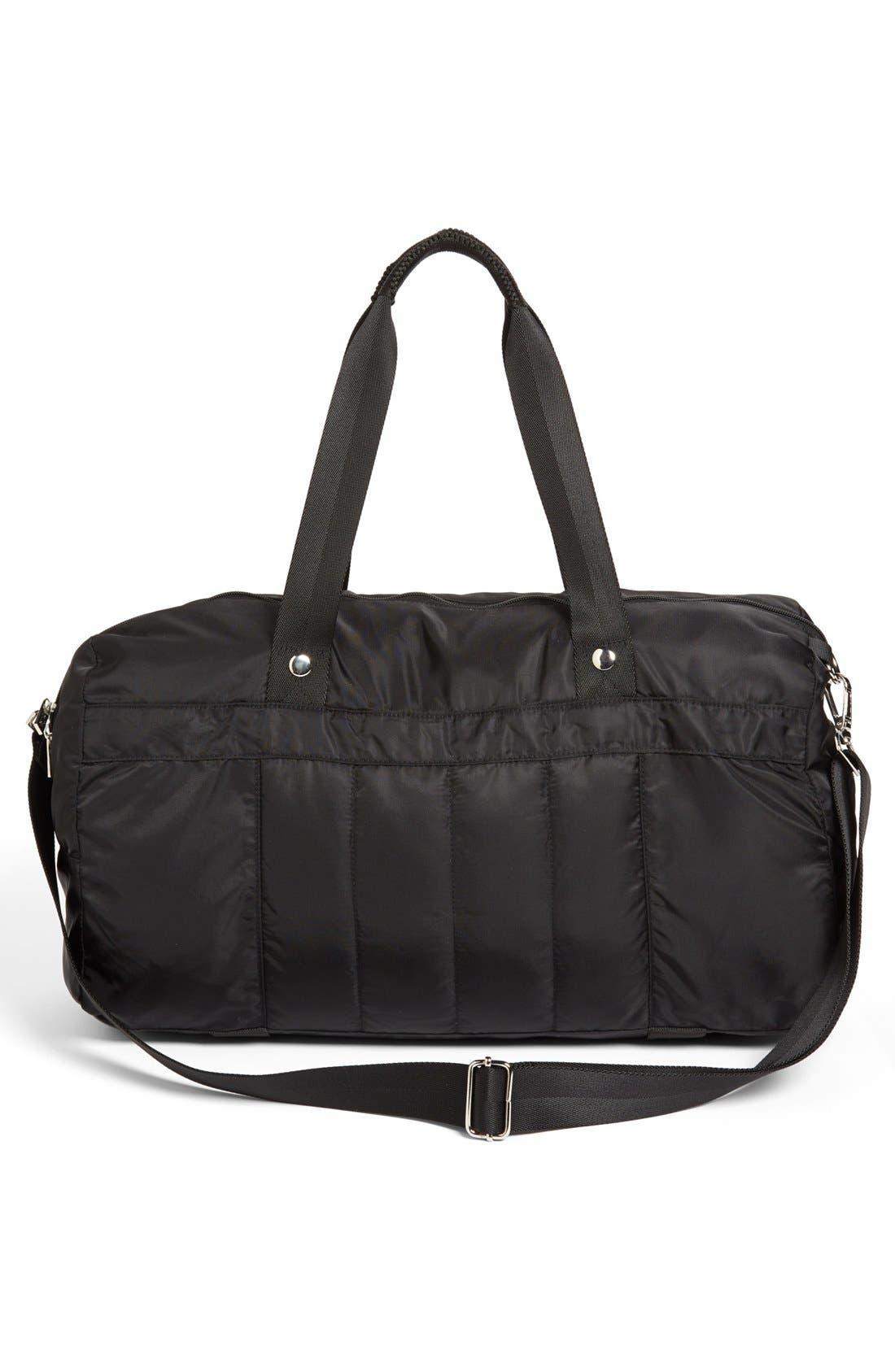 Alternate Image 2  - Zella Quilted Gear Duffel Bag