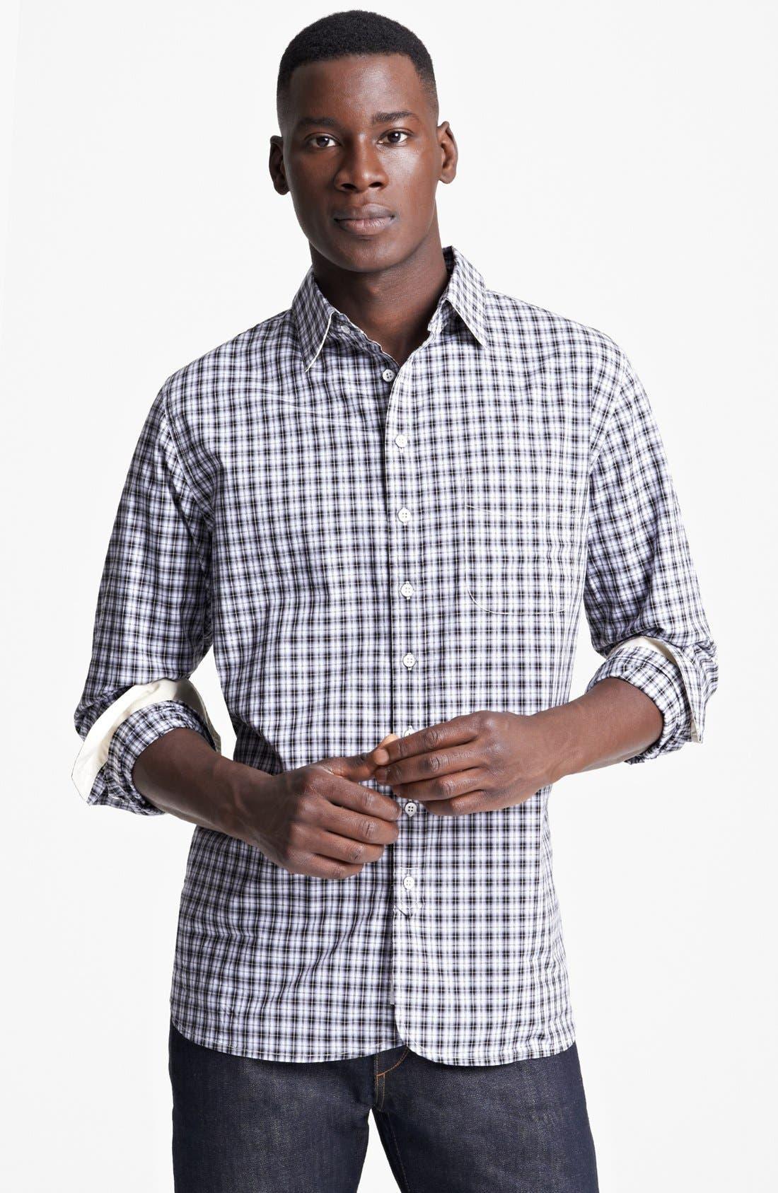 Main Image - rag & bone Check Woven Shirt