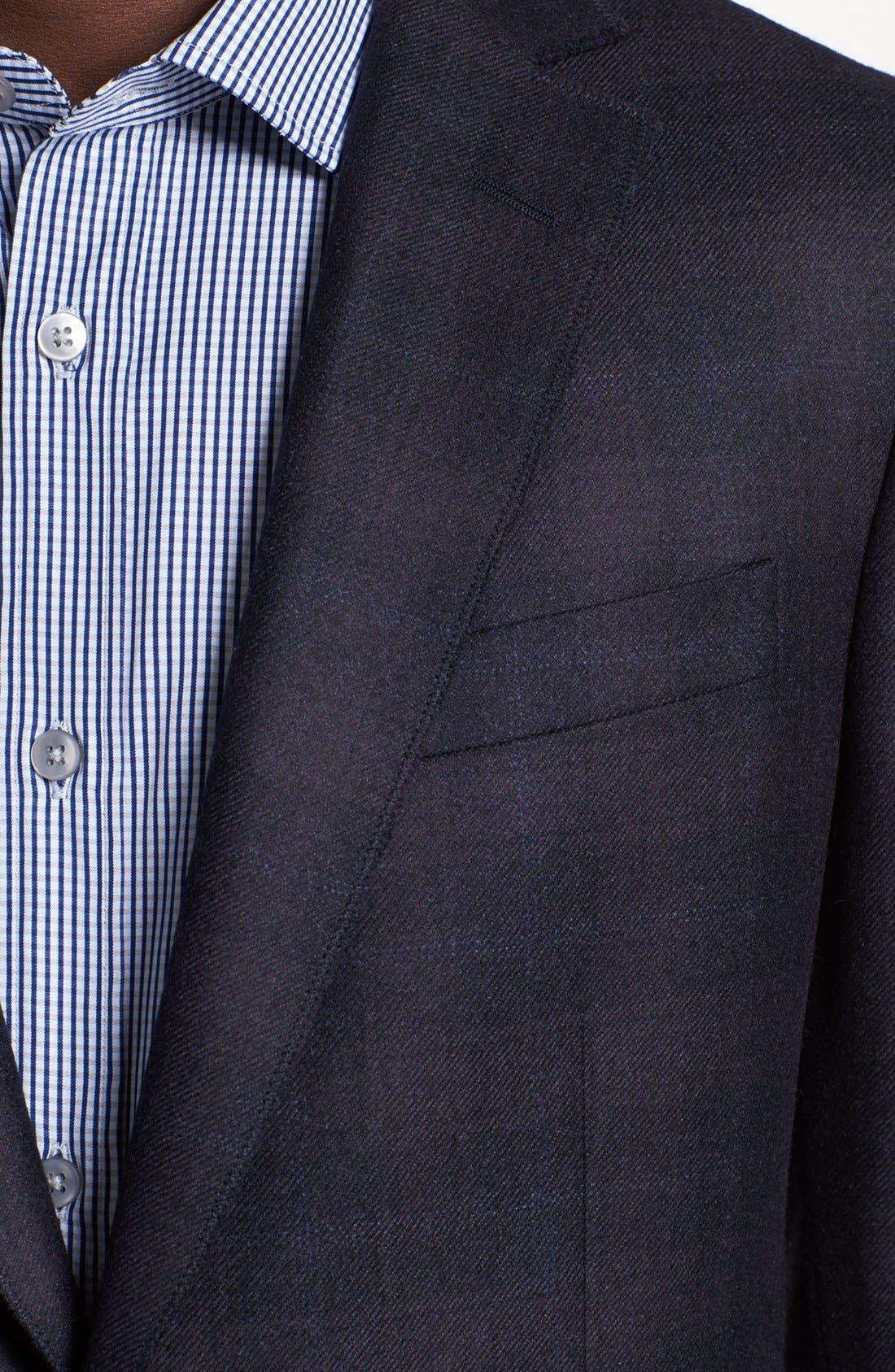 Alternate Image 2  - Z Zegna Drop 8 Fit Check Plaid Sportcoat