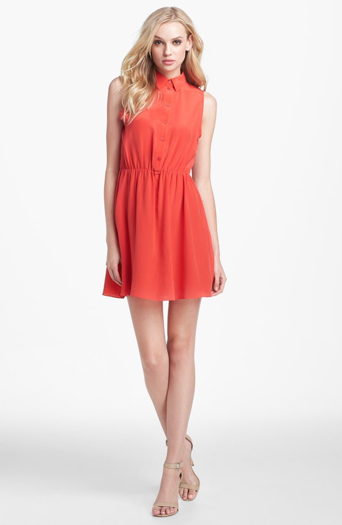 Alternate Image 1 Selected - Amanda Uprichard 'Shay' Silk Dress