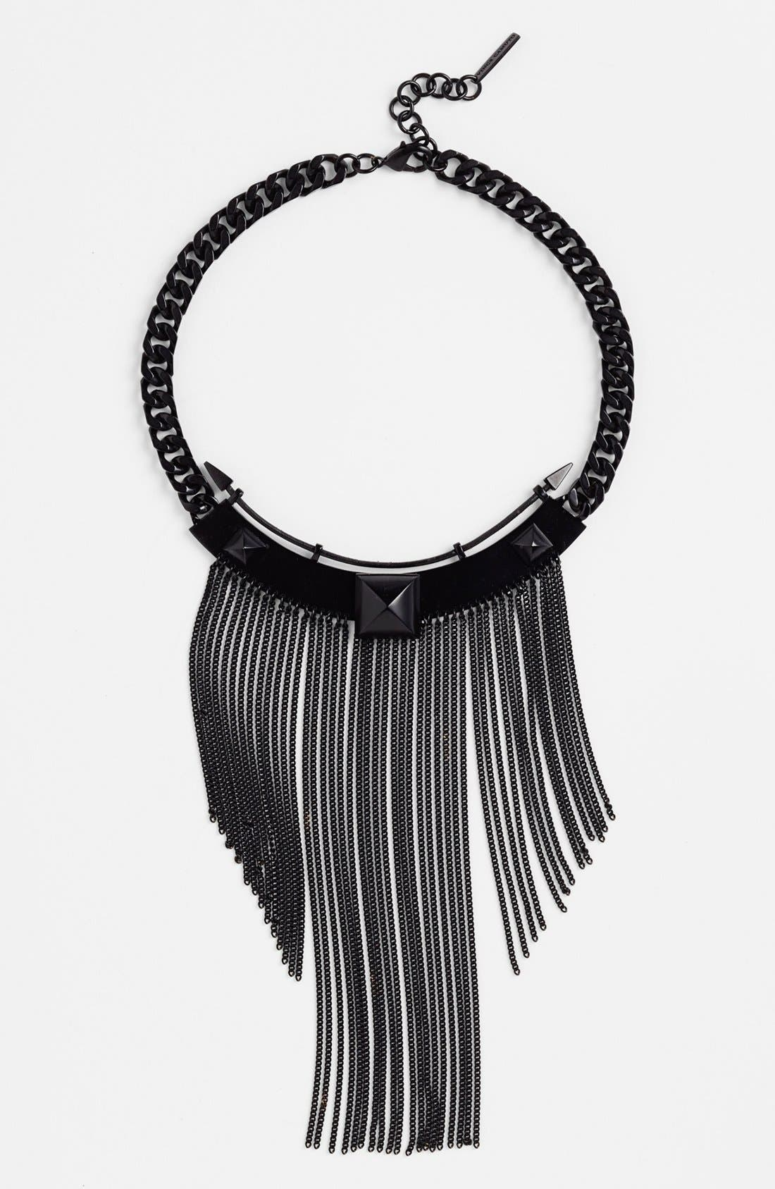 Alternate Image 1 Selected - Vince Camuto Chain Fringe Collar Necklace