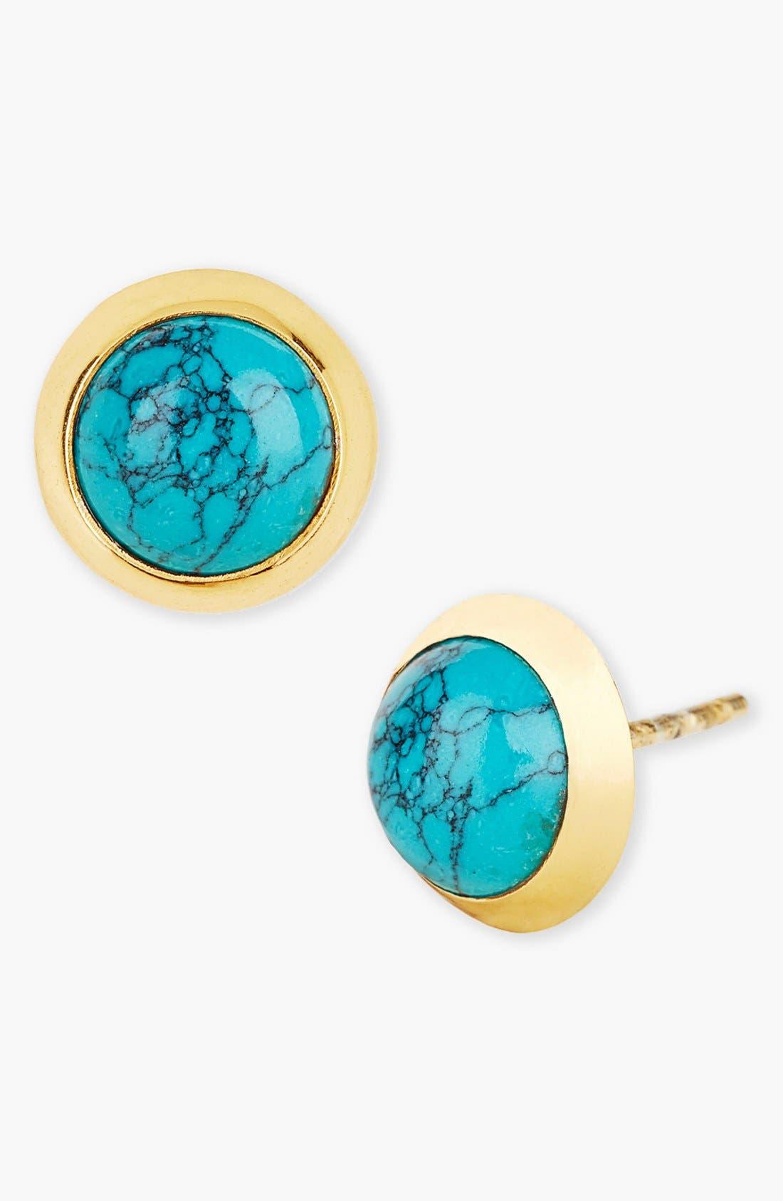 Alternate Image 1 Selected - Argento Vivo Stud Earrings (Nordstrom Exclusive)