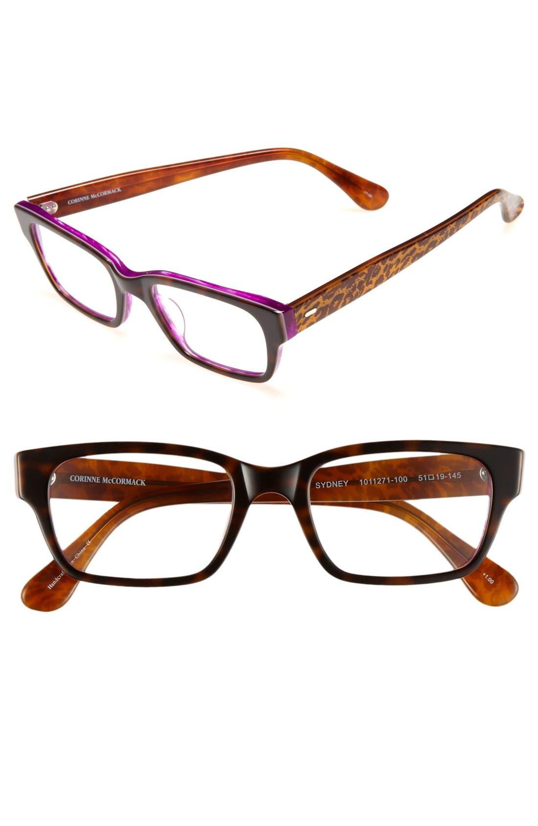 Alternate Image 1 Selected - Corinne McCormack 'Sydney' 51mm Reading Glasses