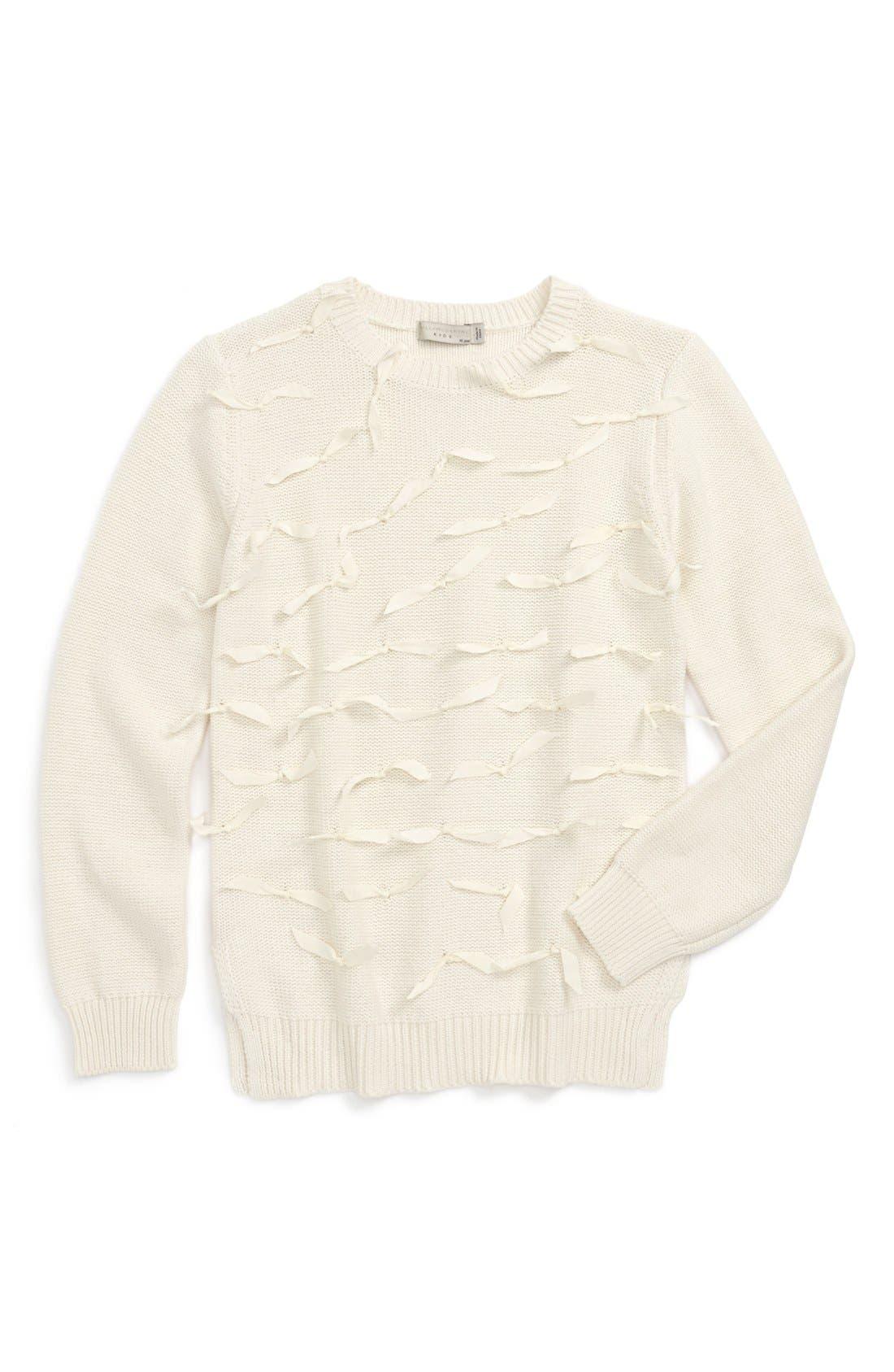 Alternate Image 1 Selected - Stella McCartney Kids 'Emily' Sweater (Little Girls & Big Girls)