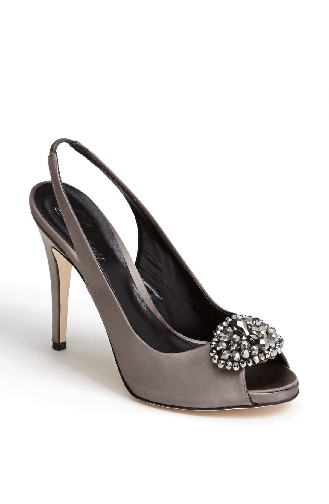 Alternate Image 1 Selected - Delman 'Aura' Slingback Pump (Online Only)