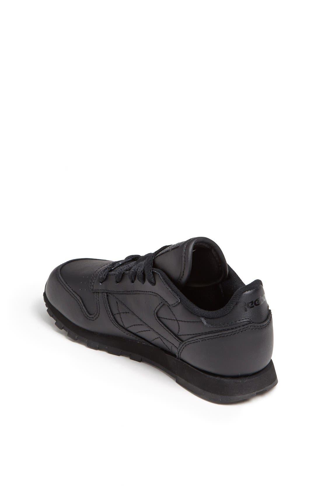 Alternate Image 2  - Reebok 'Classic' Leather Sneaker (Toddler & Little Kid)