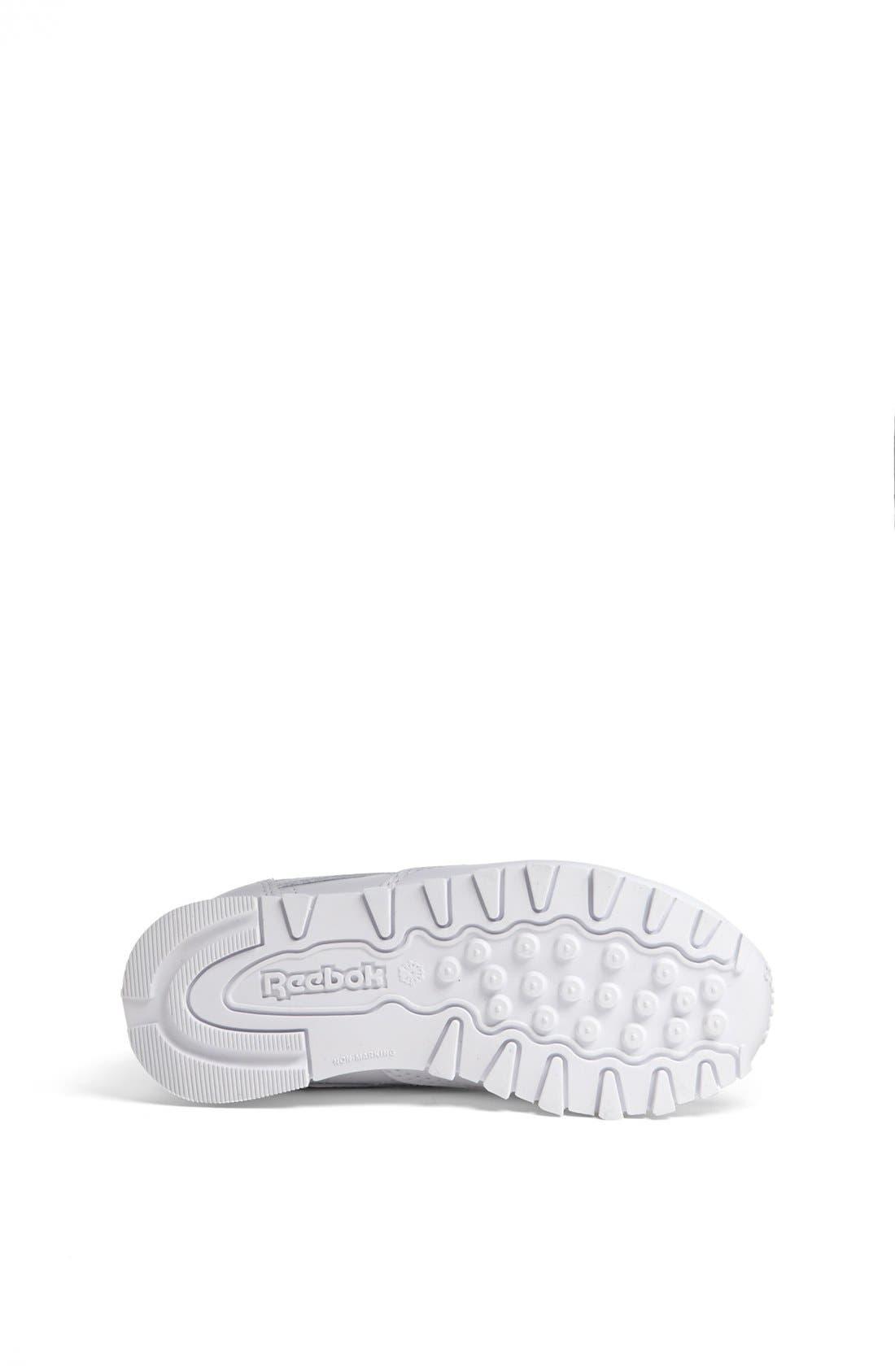 Alternate Image 4  - Reebok 'Classic' Leather Sneaker (Baby, Walker & Toddler)