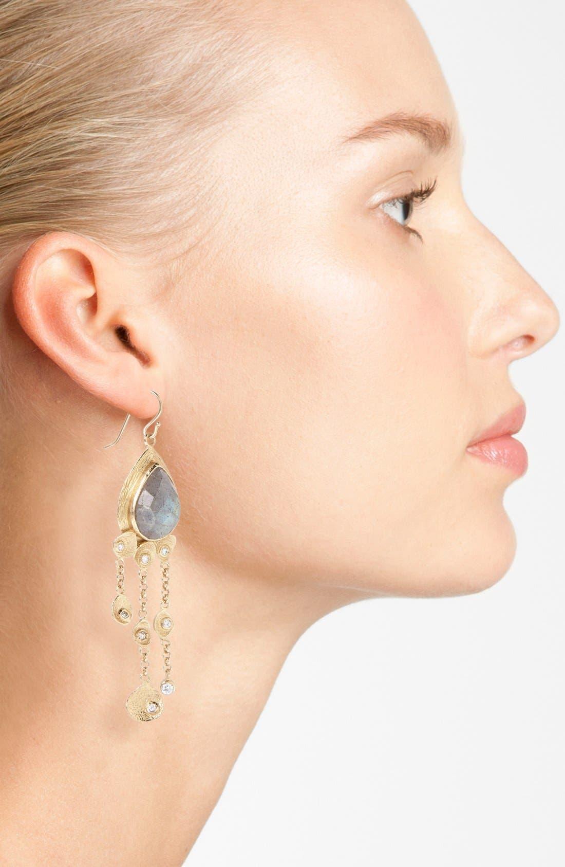 Alternate Image 2  - Melinda Maria 'Mosaic - Felix' Drop Earrings
