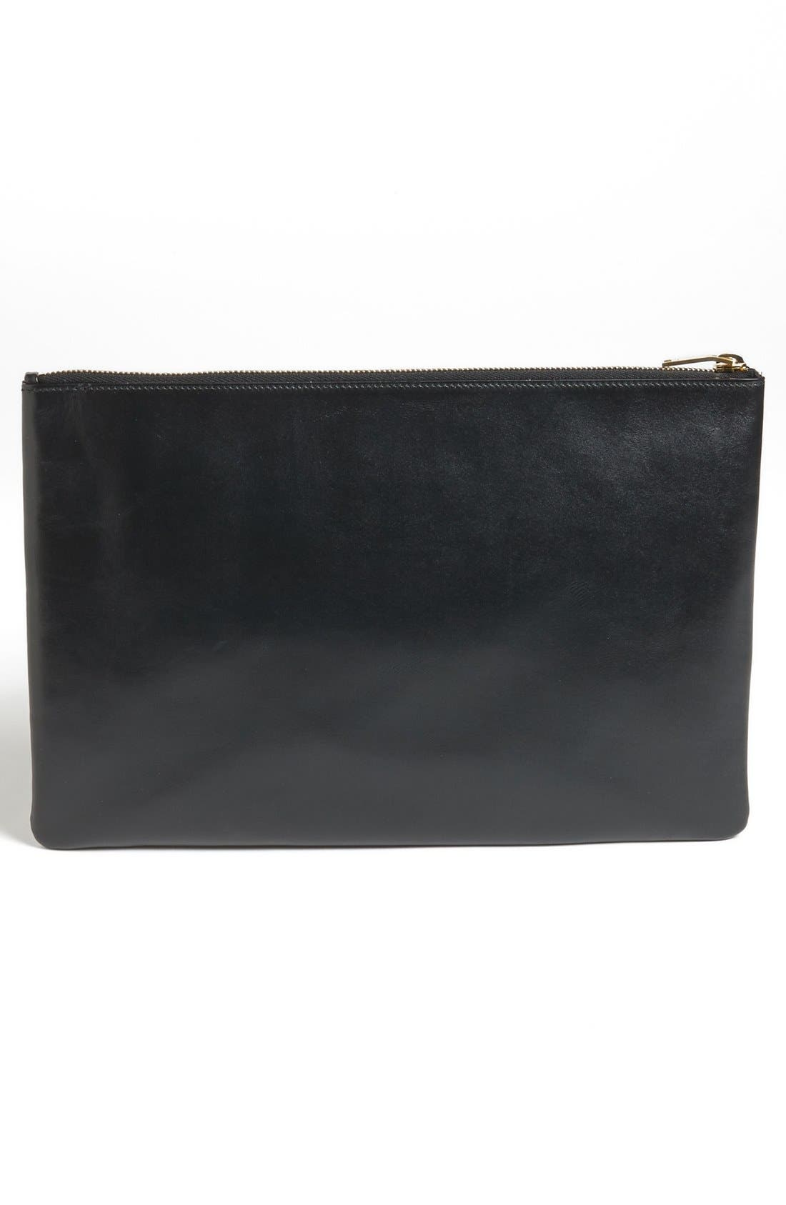 Alternate Image 3  - Saint Laurent Leather Clutch