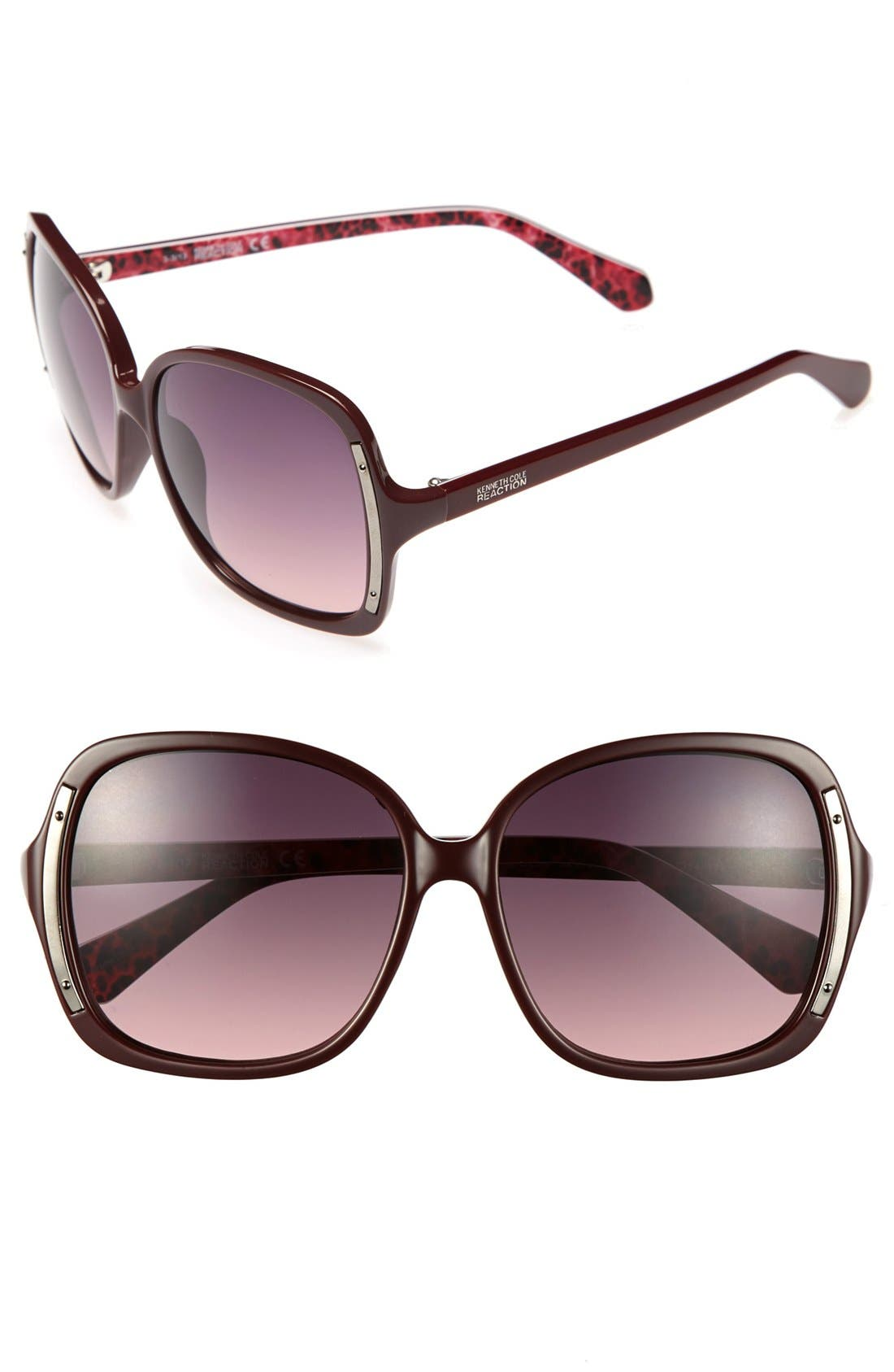 Main Image - Kenneth Cole Reaction 60mm Sunglasses