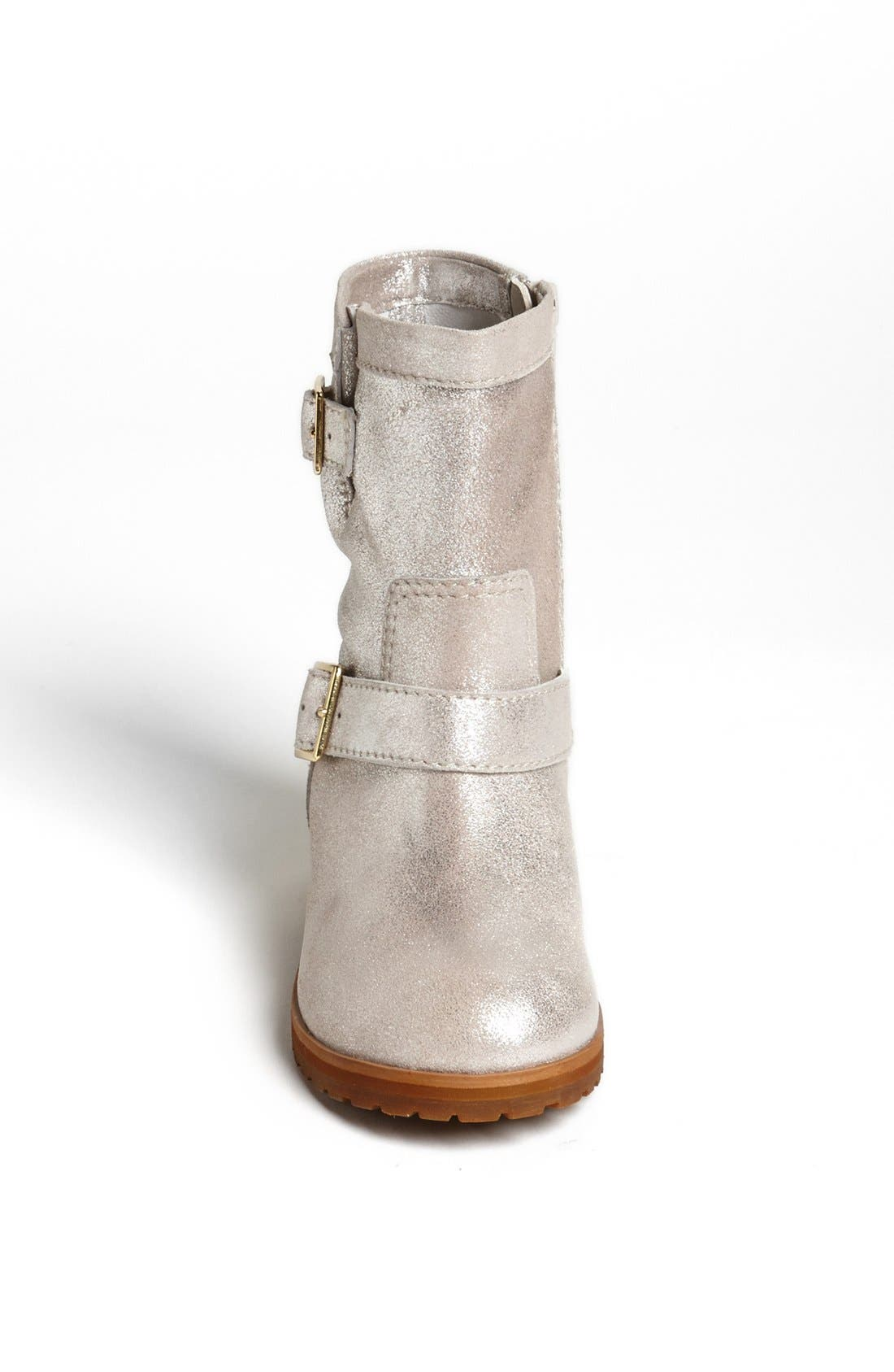 Alternate Image 3  - Peek 'Farraria' Moto Boot (Walker, Toddler, Little Kid & Big Kid)