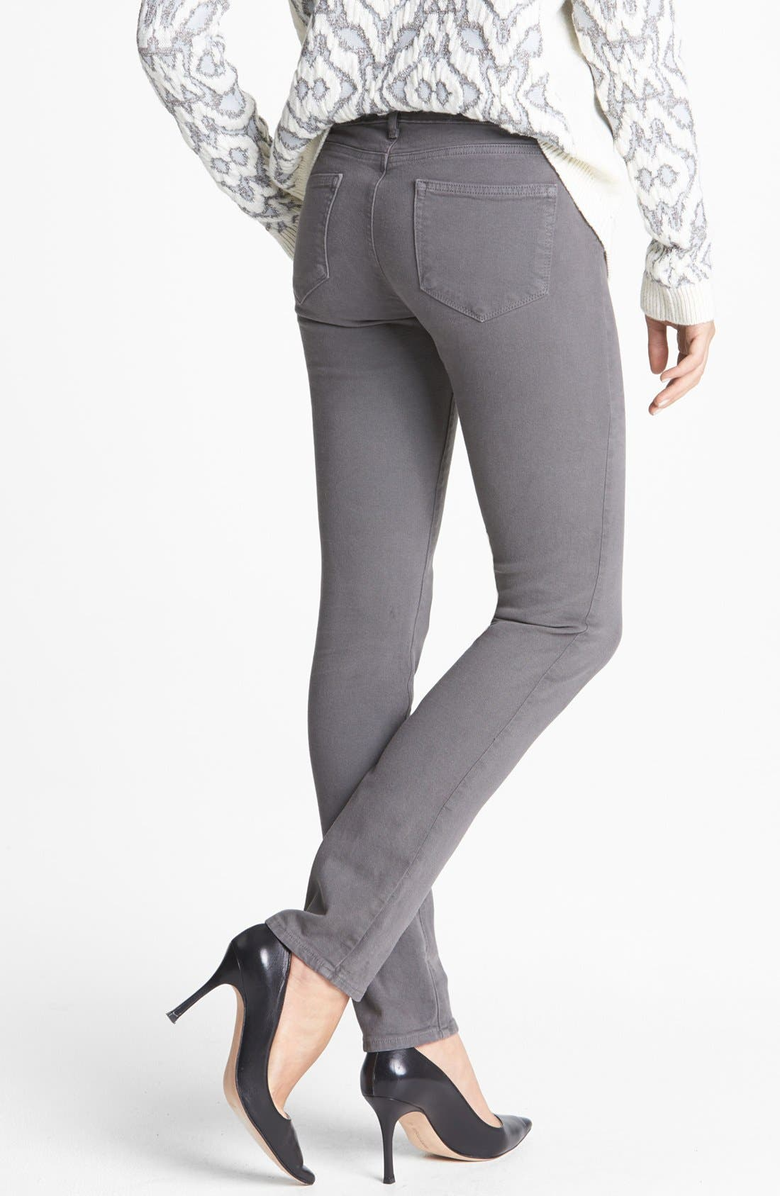 Alternate Image 2  - Paige Denim 'Skyline' Stretch Skinny Jeans (Mobile)