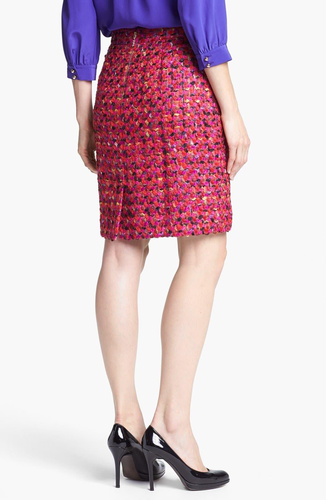 Alternate Image 2  - kate spade new york 'judy' wool blend skirt