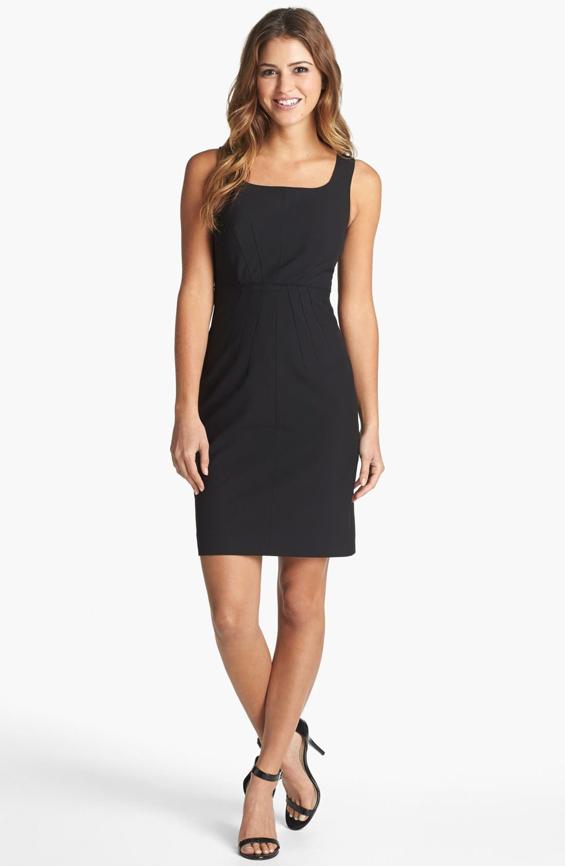 Alternate Image 1 Selected - Halogen® Sheath Dress (Regular & Petite)