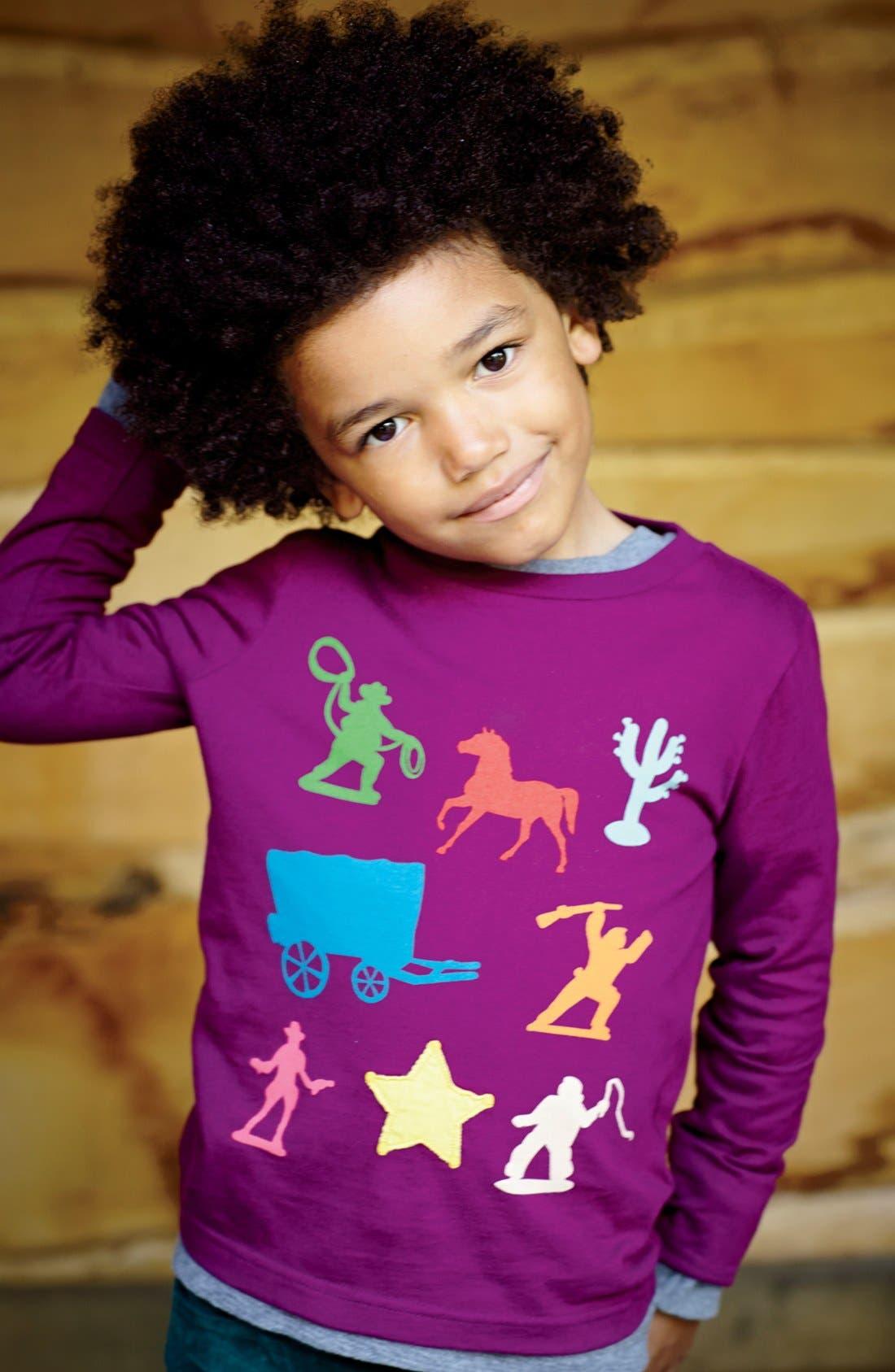 Alternate Image 2  - Mini Boden 'Multi Logo' Screenprint T-Shirt (Little Boys & Big Boys)