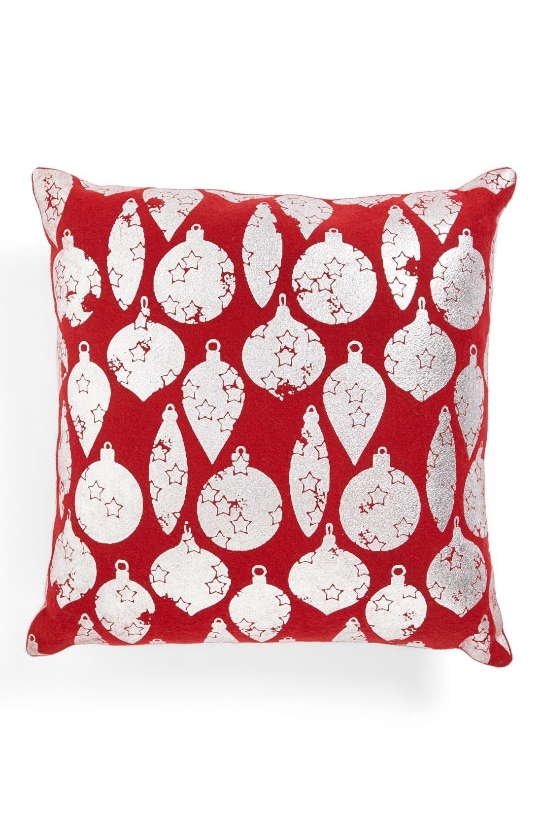 Alternate Image 1 Selected - Shiraleah Ornaments Square Pillow