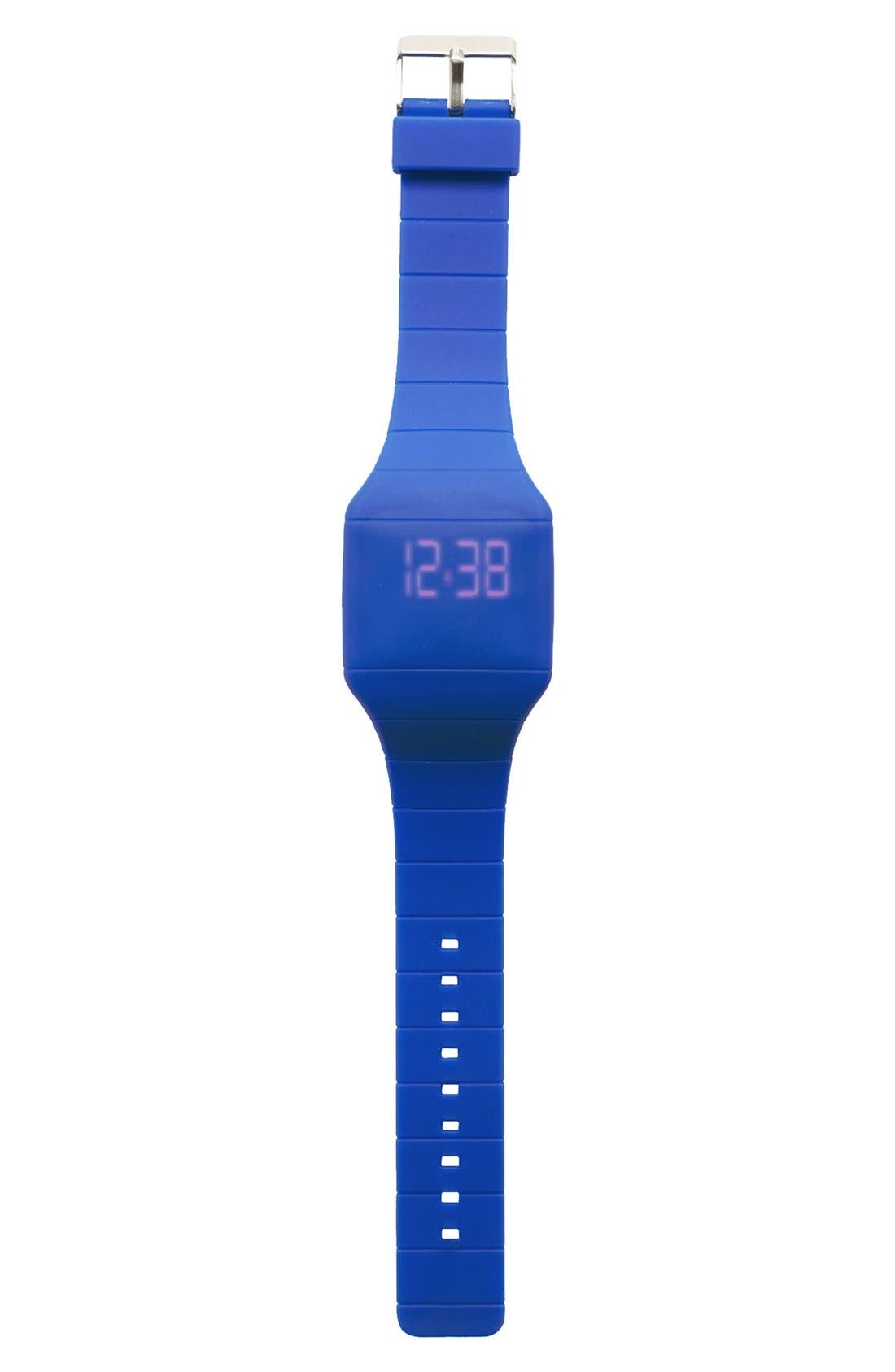 Alternate Image 1 Selected - Titanium LED Display Watch (Boys)