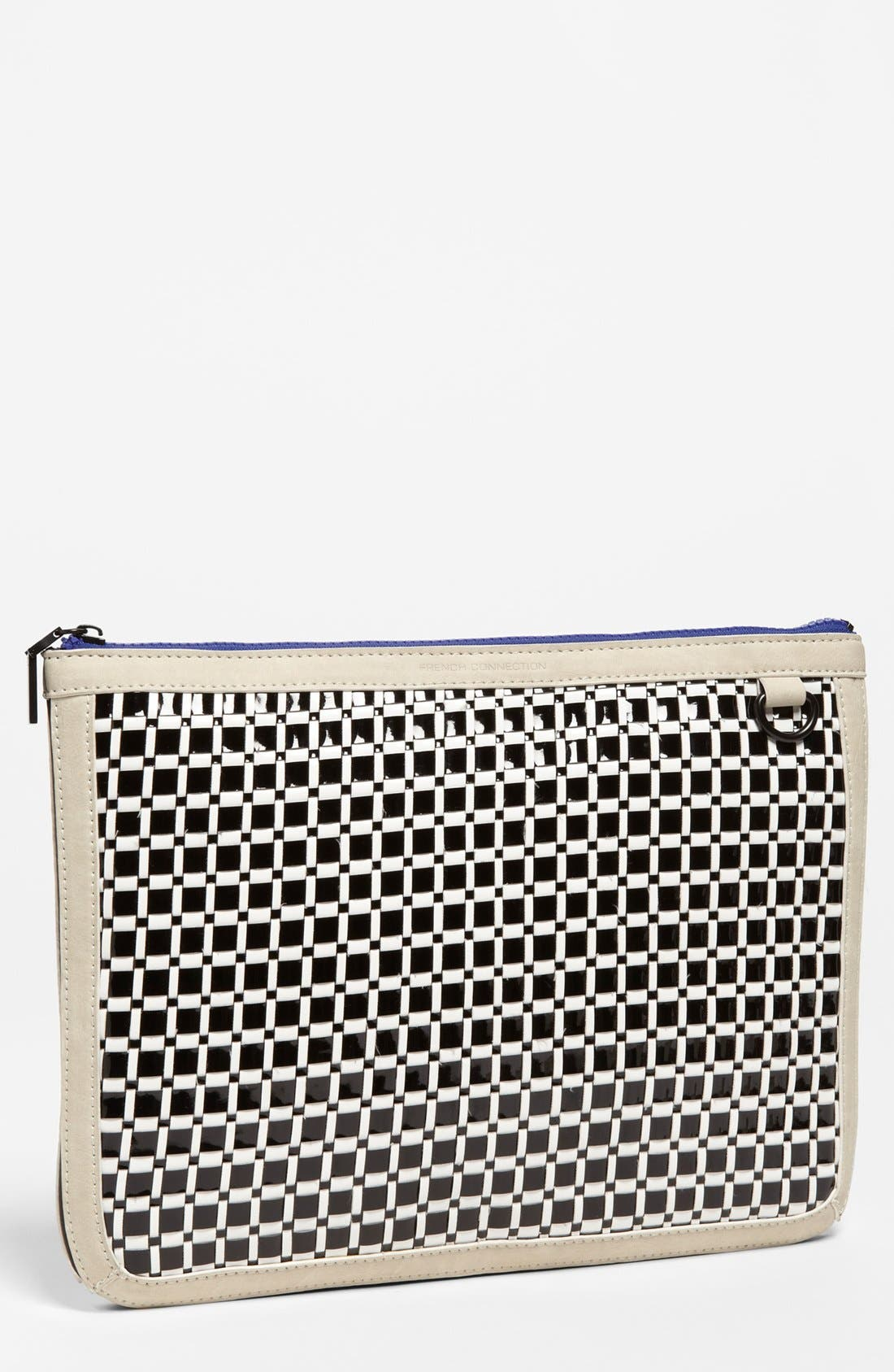 Main Image - French Connection Oversized Clutch