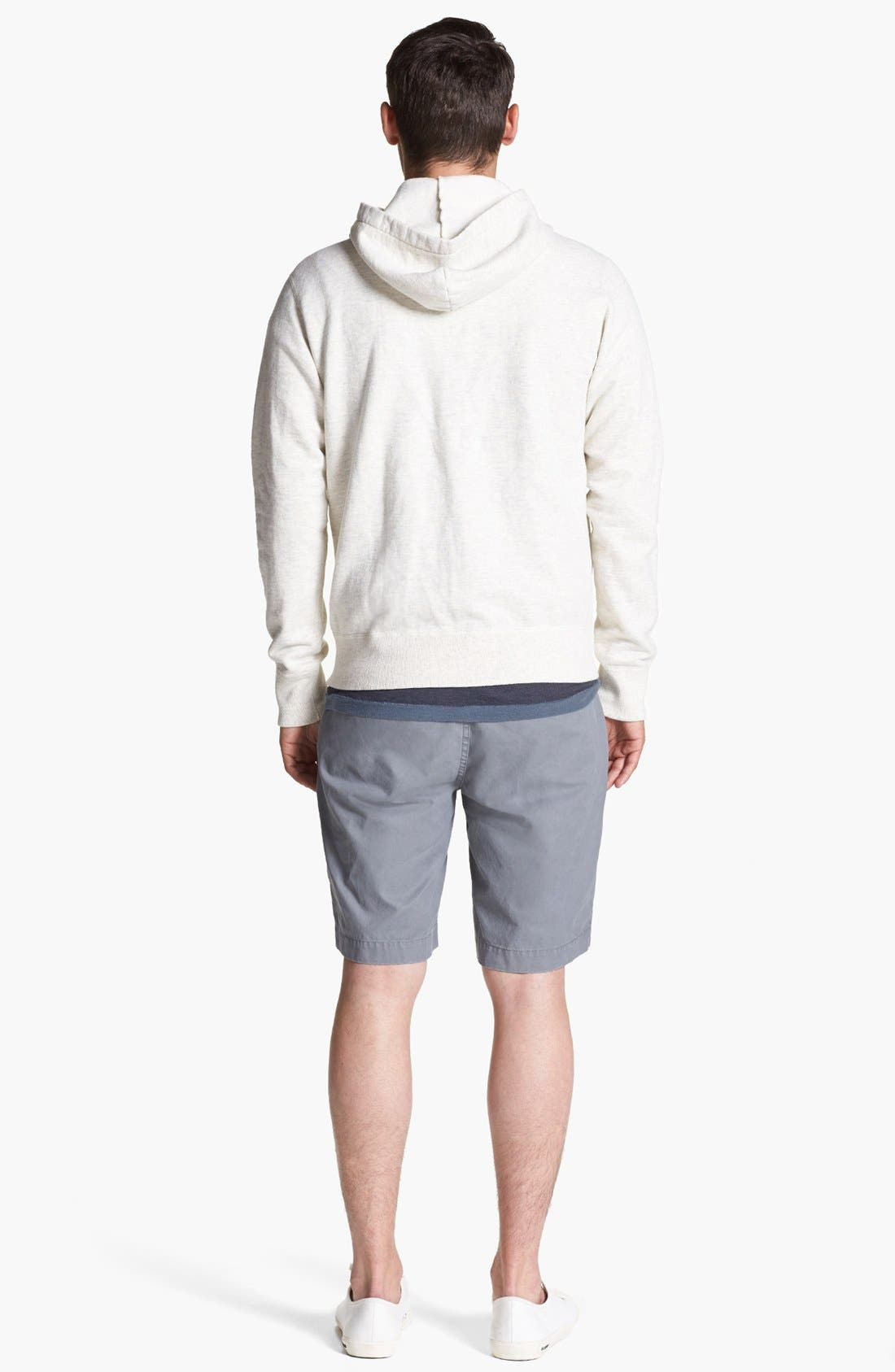 Alternate Image 3  - Todd Snyder + Champion Hoodie, French Connection T-Shirt & BOSS HUGO BOSS Shorts