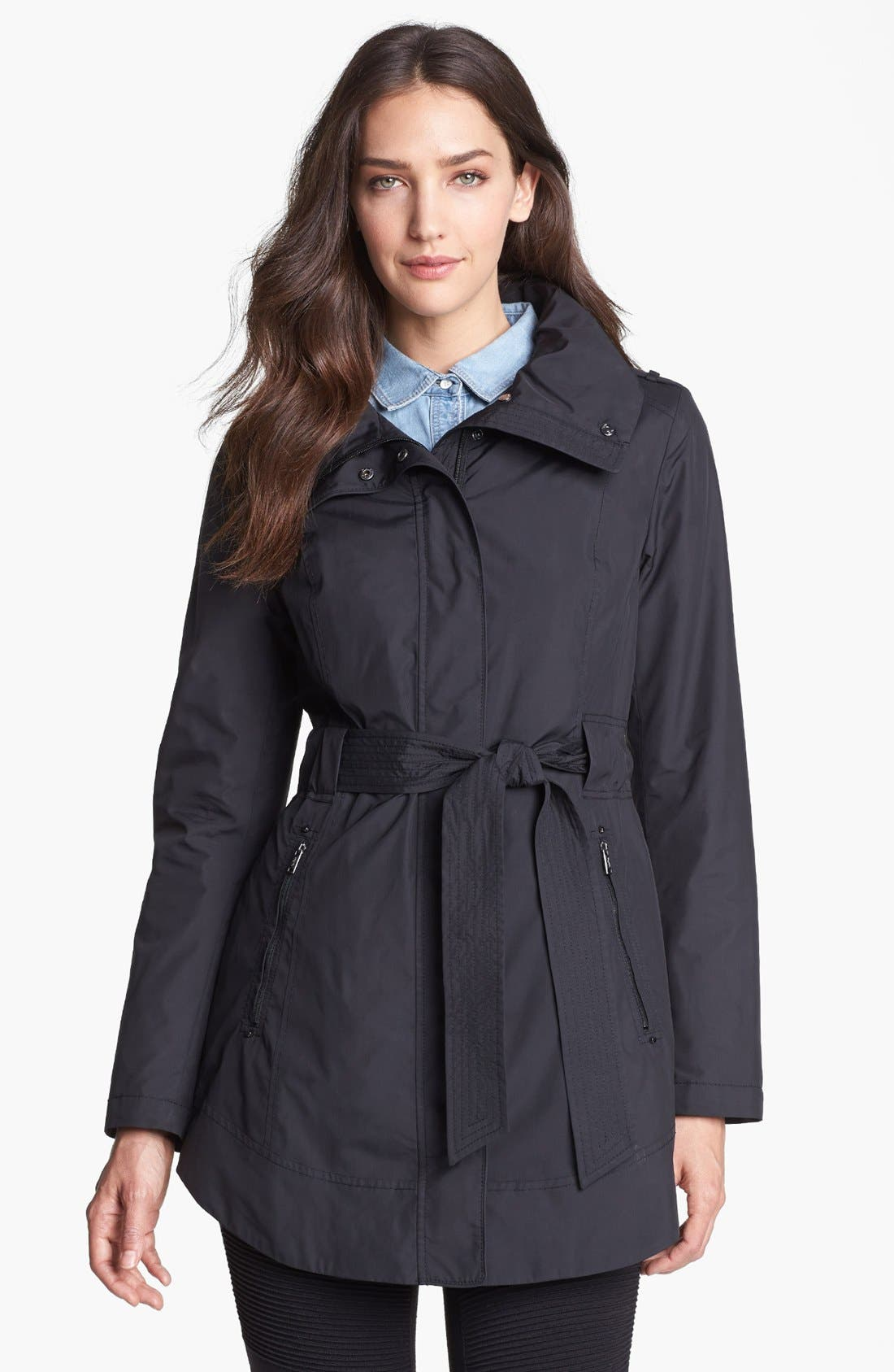 Alternate Image 1  - Tumi 'Cardiff' Packable Raincoat with Detachable Liner