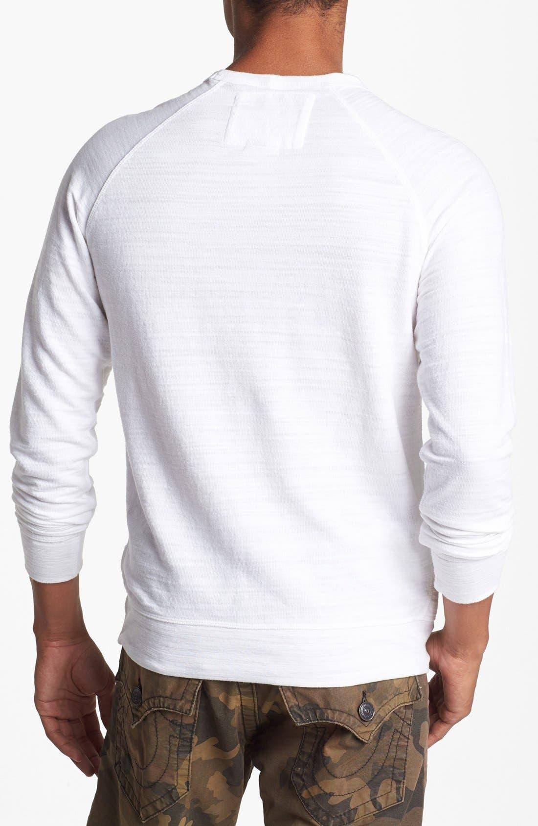 Alternate Image 2  - True Religion Brand Jeans Crewneck Sweatshirt