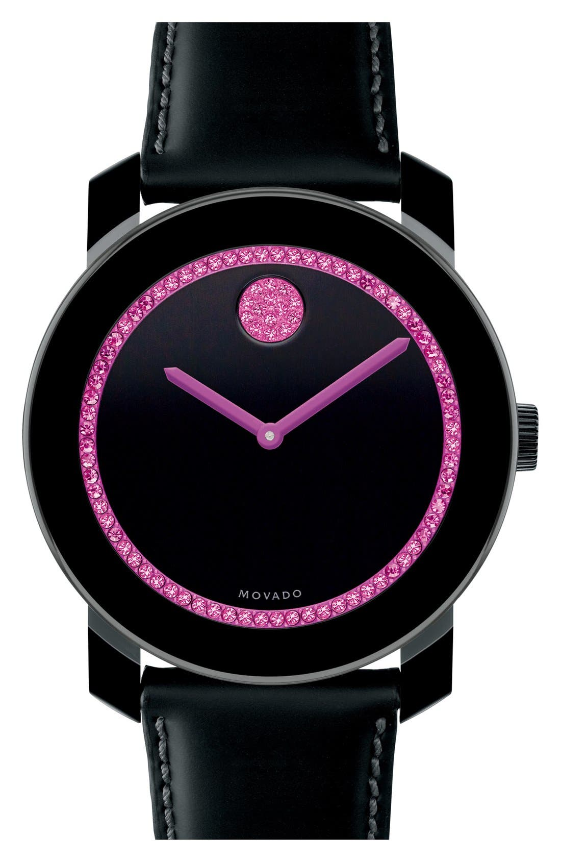 Main Image - Movado 'Bold - Breast Cancer Awareness' Watch, 42mm