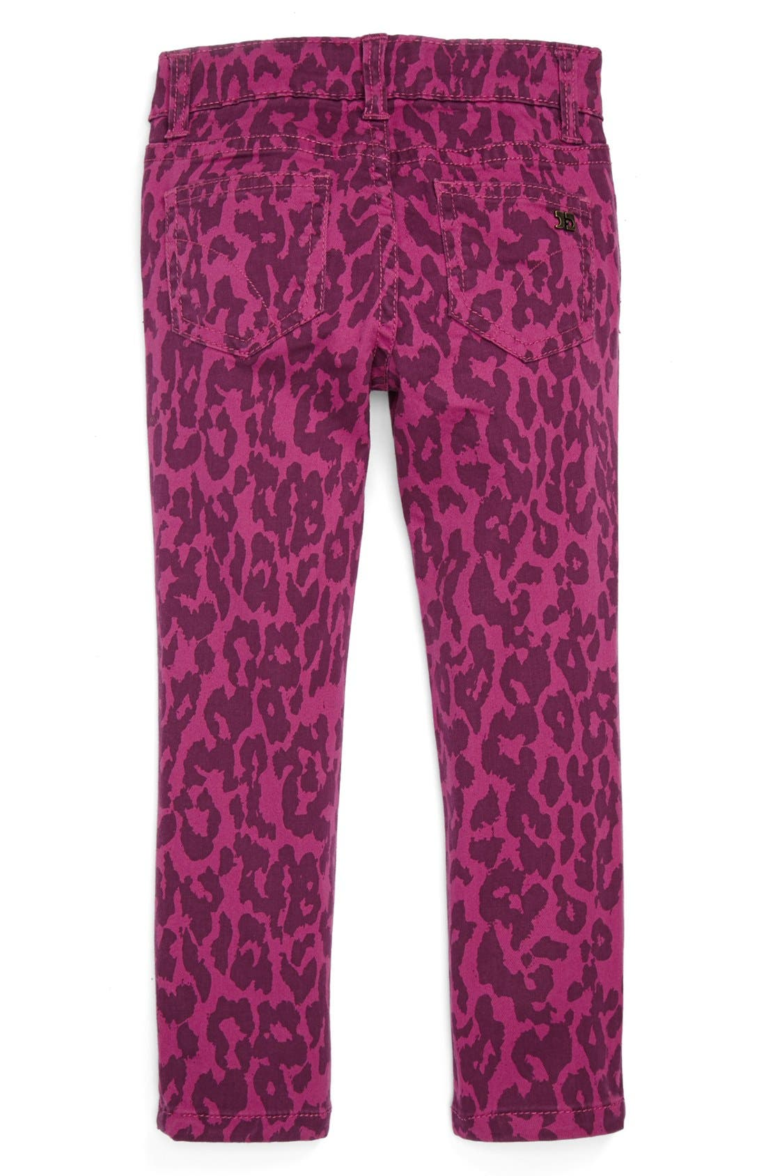 Alternate Image 1 Selected - Joe's 'Wild Leopard' Jeggings (Toddler Girls)