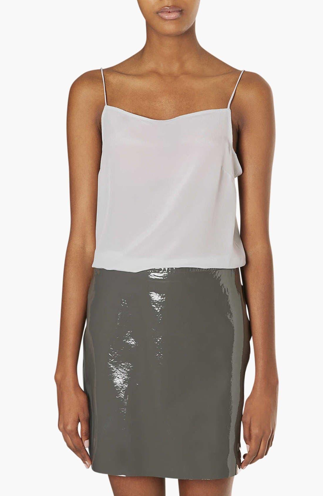 Main Image - Topshop Boutique Silk Camisole
