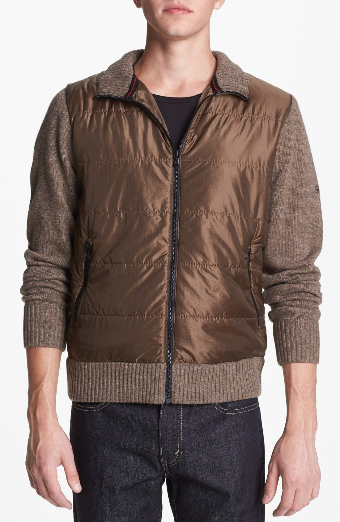 Alternate Image 1 Selected - Victorinox Swiss Army® Tailored Fit Insulated Zip Sweater