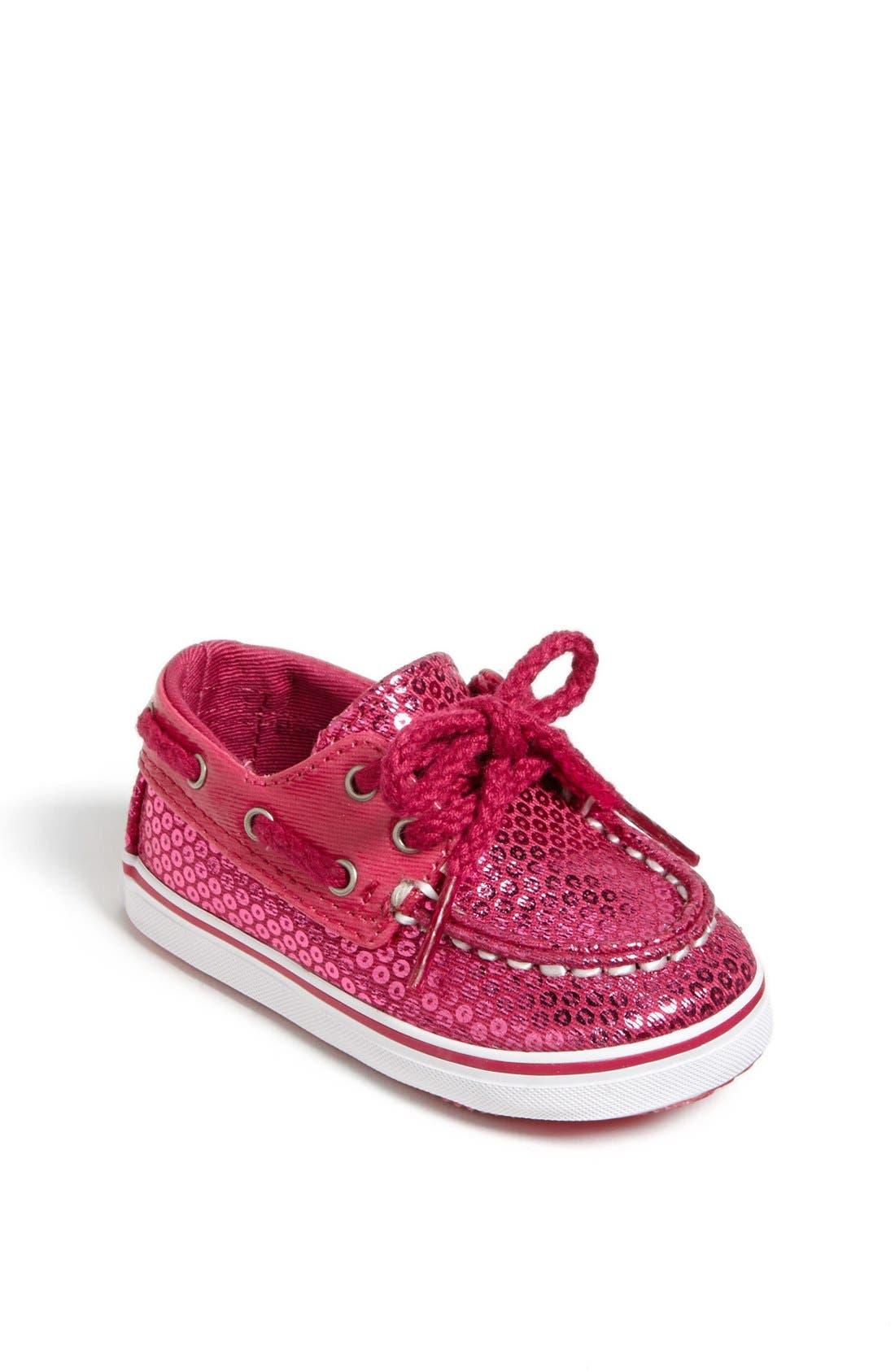 Main Image - Sperry Top-Sider® Kids 'Bahama' Crib Shoe (Baby)