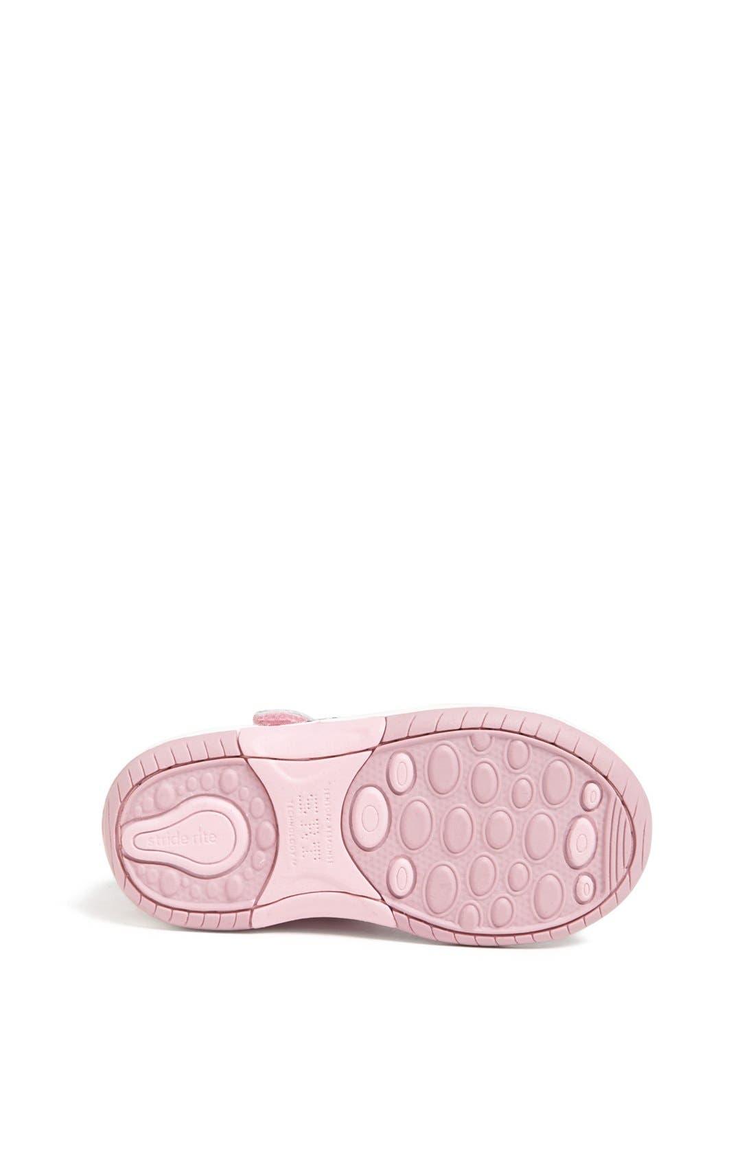 Alternate Image 4  - Stride Rite 'SRT Aurora' Mary Jane Sneaker (Baby, Walker & Toddler)