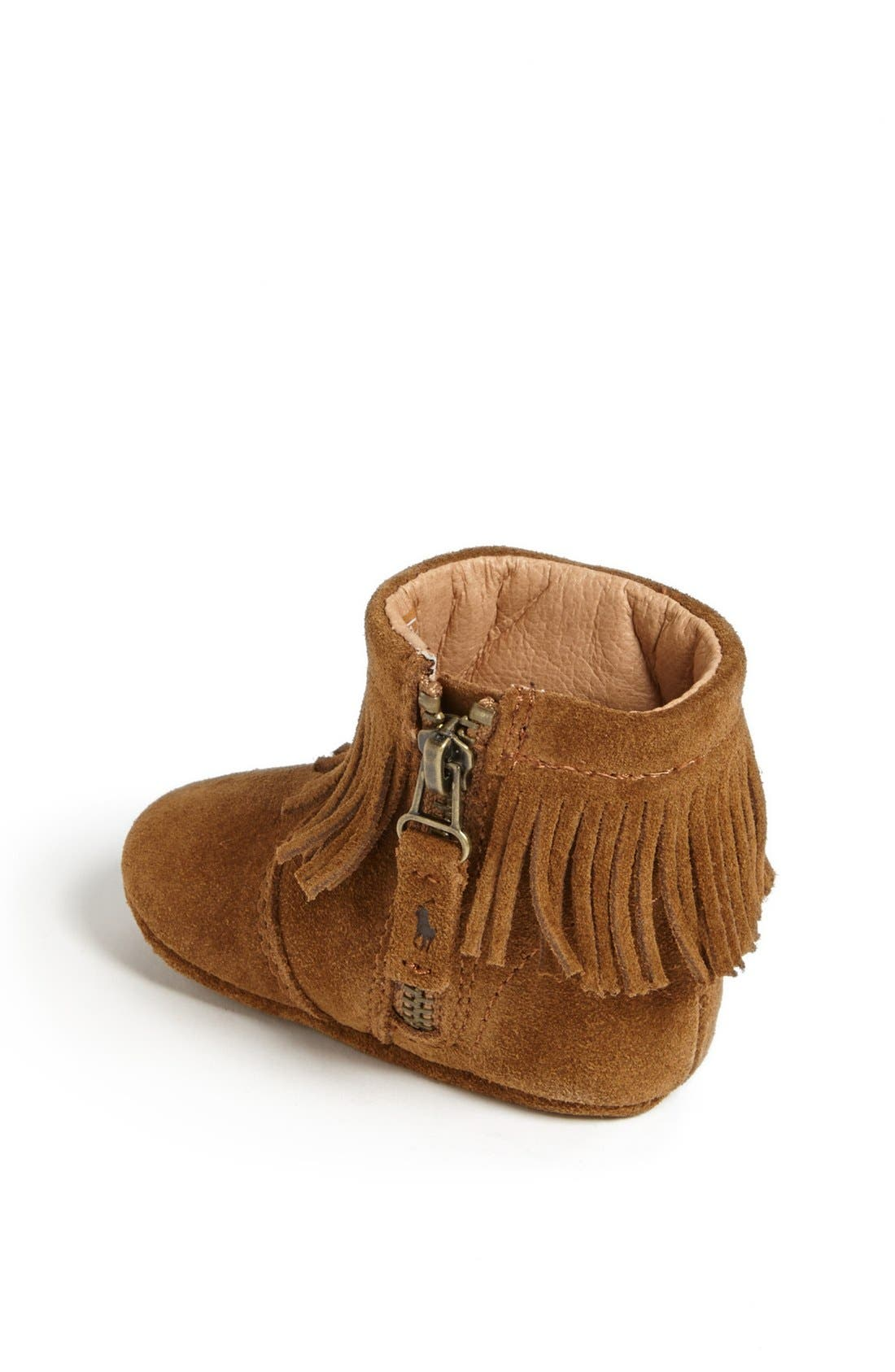 Alternate Image 2  - Ralph Lauren Crib Shoe (Baby)