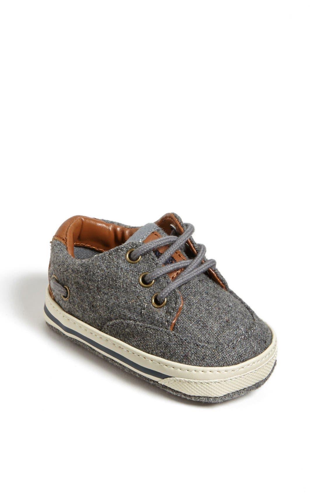 Main Image - Ralph Lauren Crib Shoe (Baby)