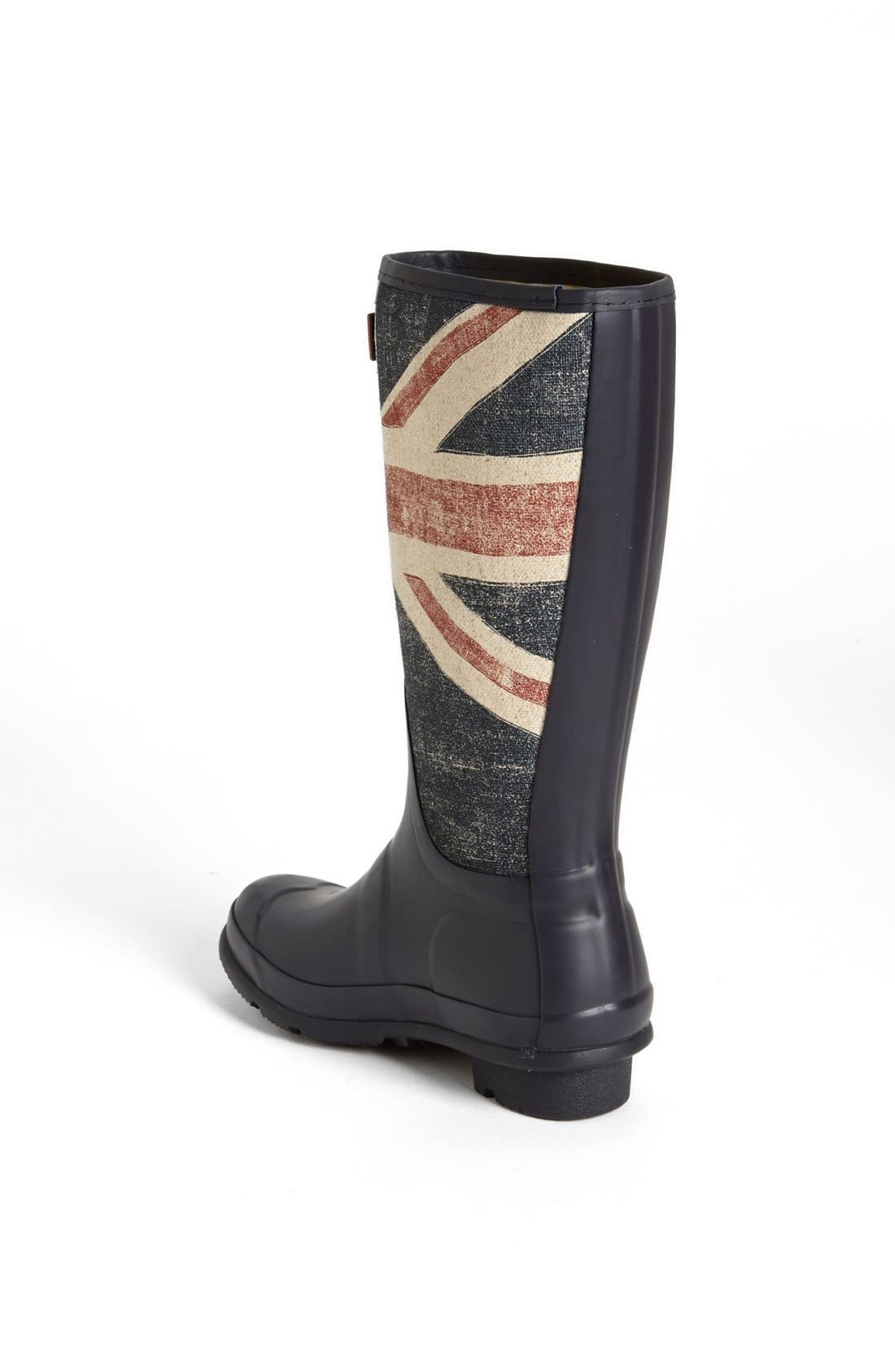 Alternate Image 2  - Hunter 'Brit' Waterproof Rain Boot (Little Kid & Big Kid)