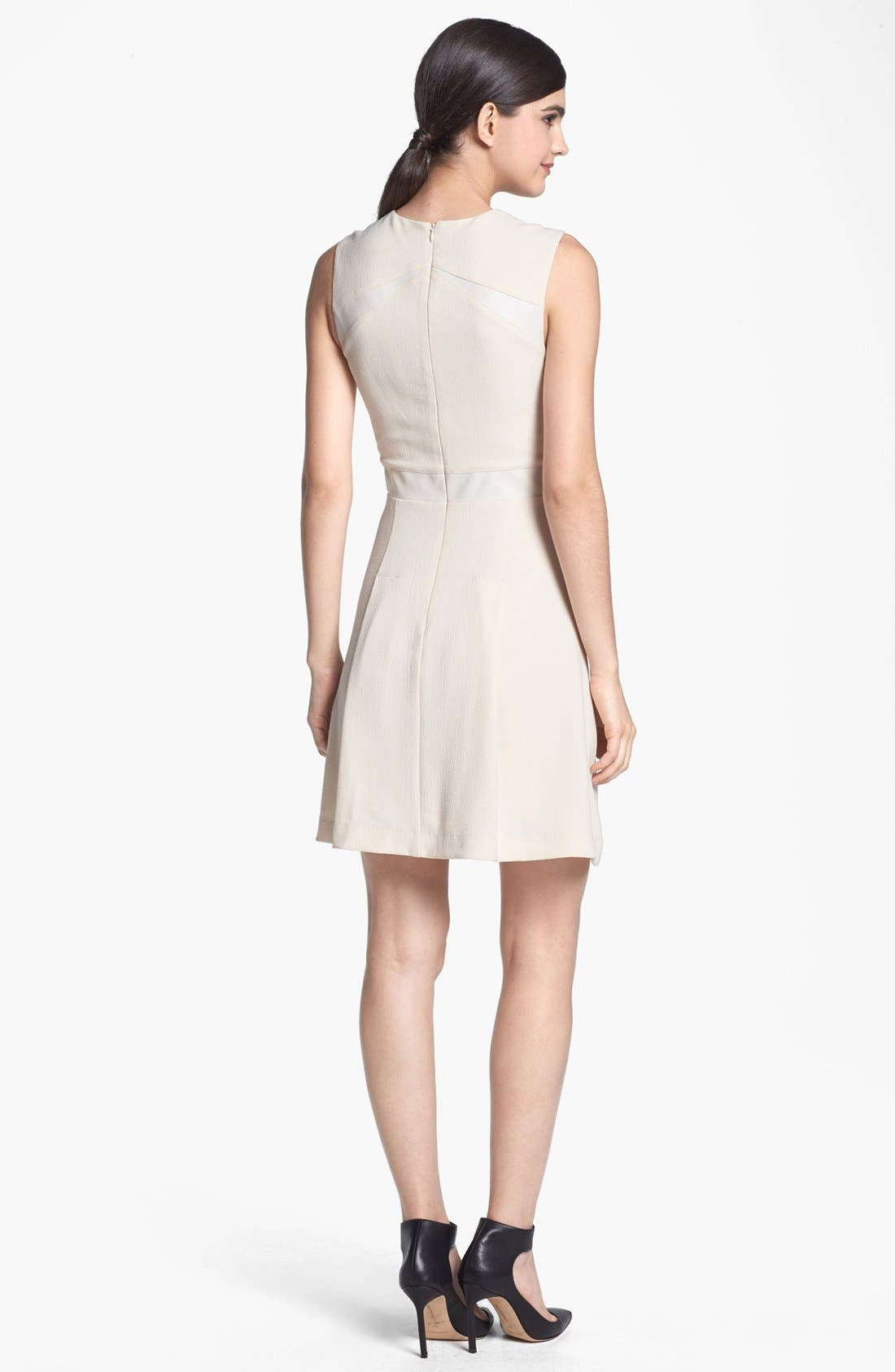Alternate Image 2  - Search for Sanity Tonal Inset Fit & Flare Dress