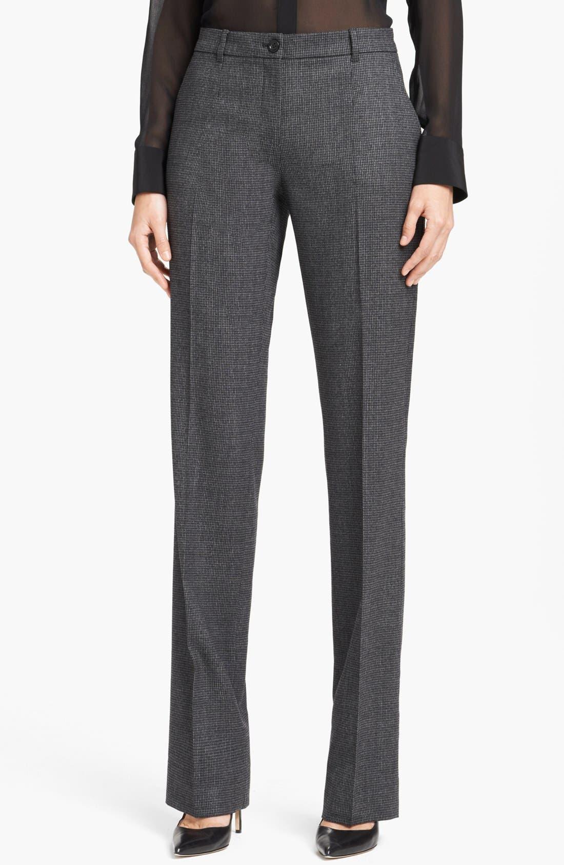 Alternate Image 1 Selected - Dolce&Gabbana Houndstooth Pants