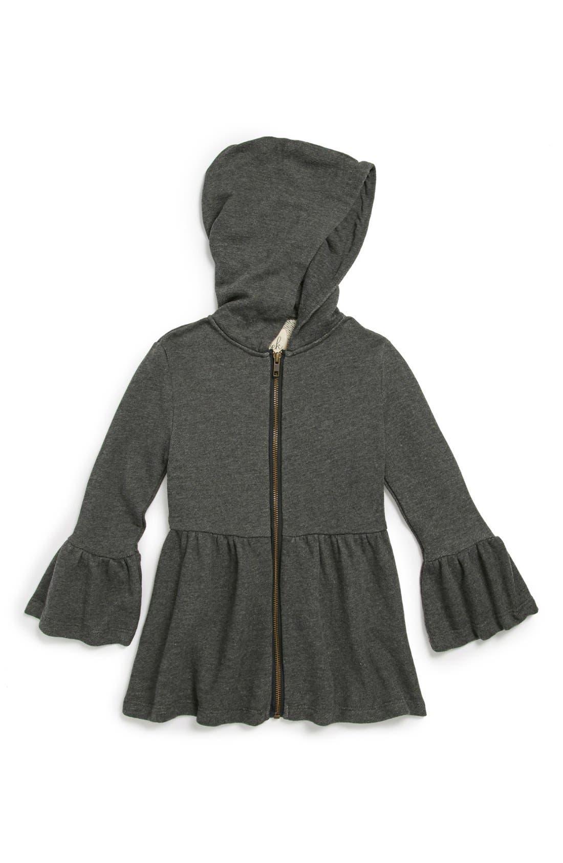 Alternate Image 1 Selected - Peek 'Pippa' Hoodie Jacket (Toddler Girls, Little Girls & Big Girls)