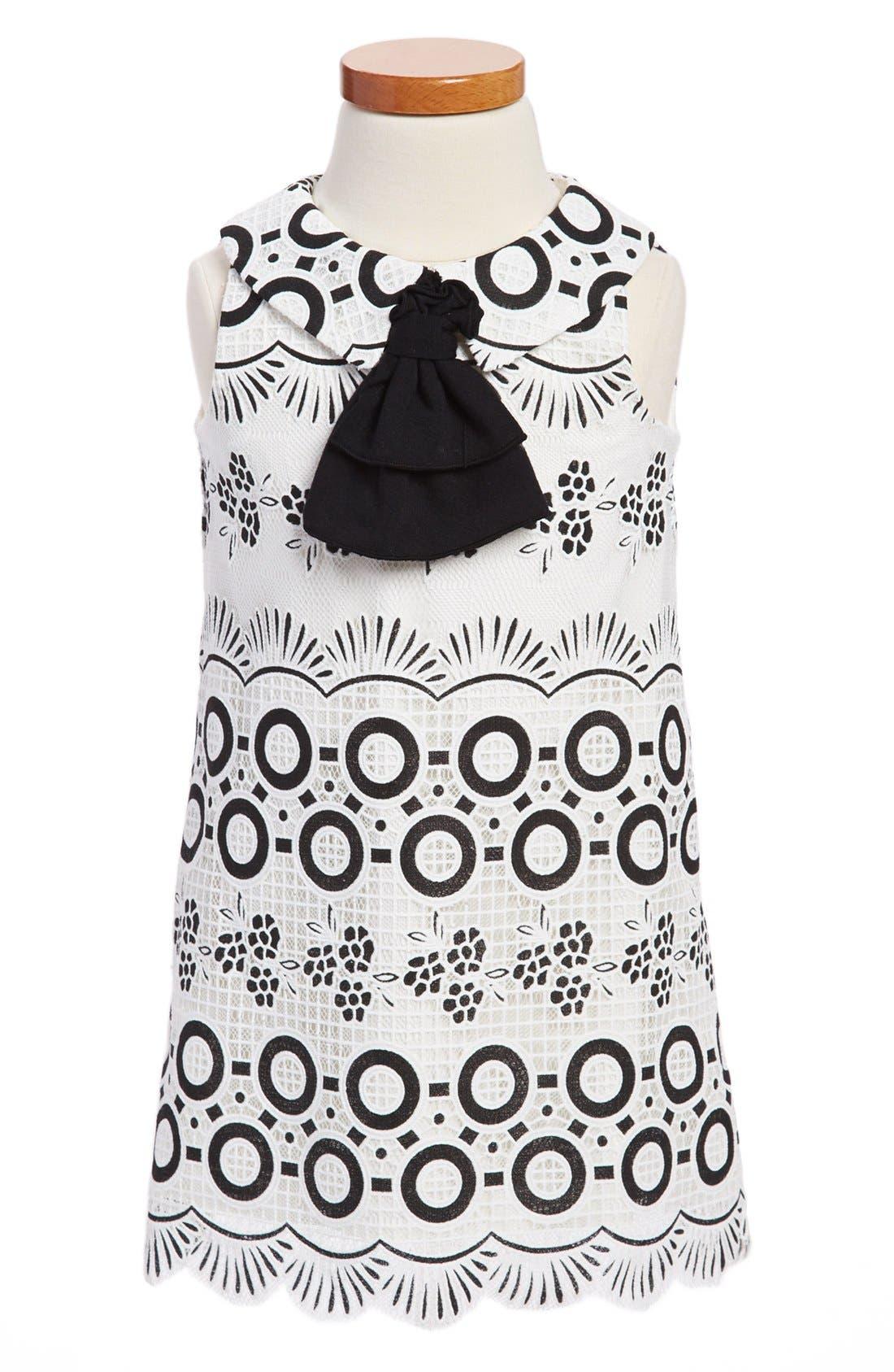 Alternate Image 1 Selected - Pippa & Julie A-Line Shift Dress (Toddler Girls)