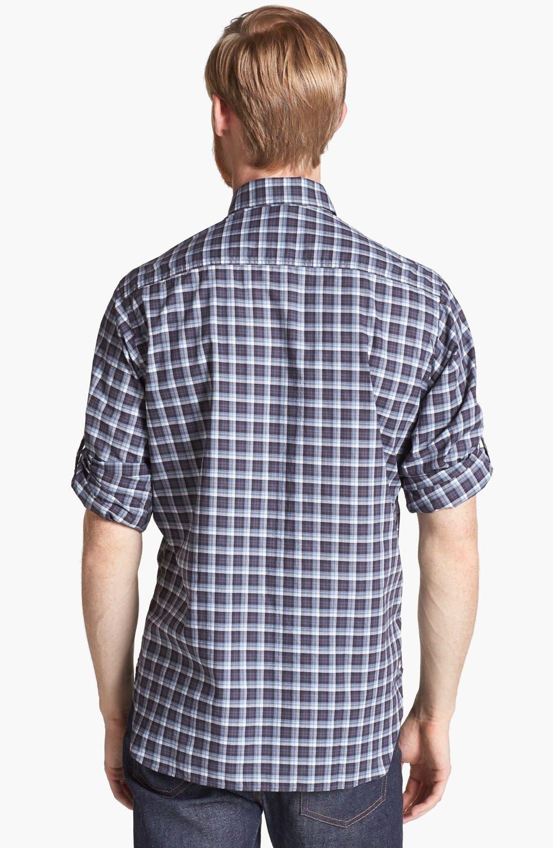 Alternate Image 2  - Billy Reid 'Helton' Plaid Shirt